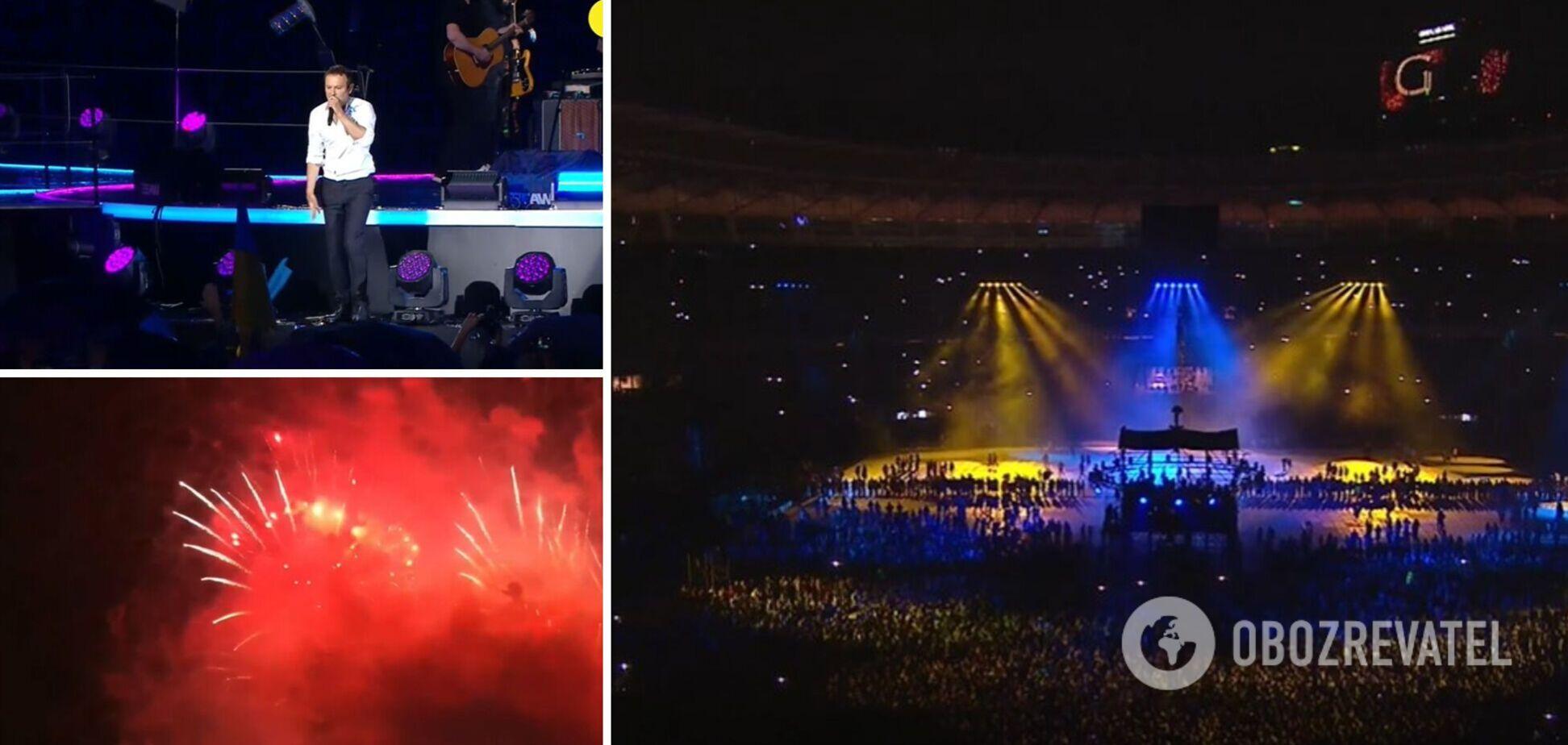 На Олімпійському пройшов концерт до Дня Незалежності