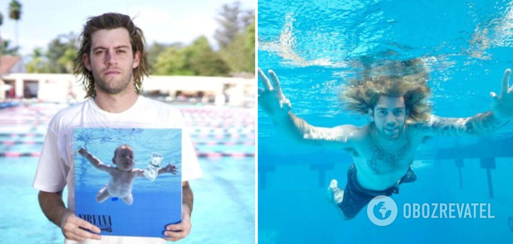 Младенец с обложки альбома Nevermind подал в суд на участников группы Nirvana