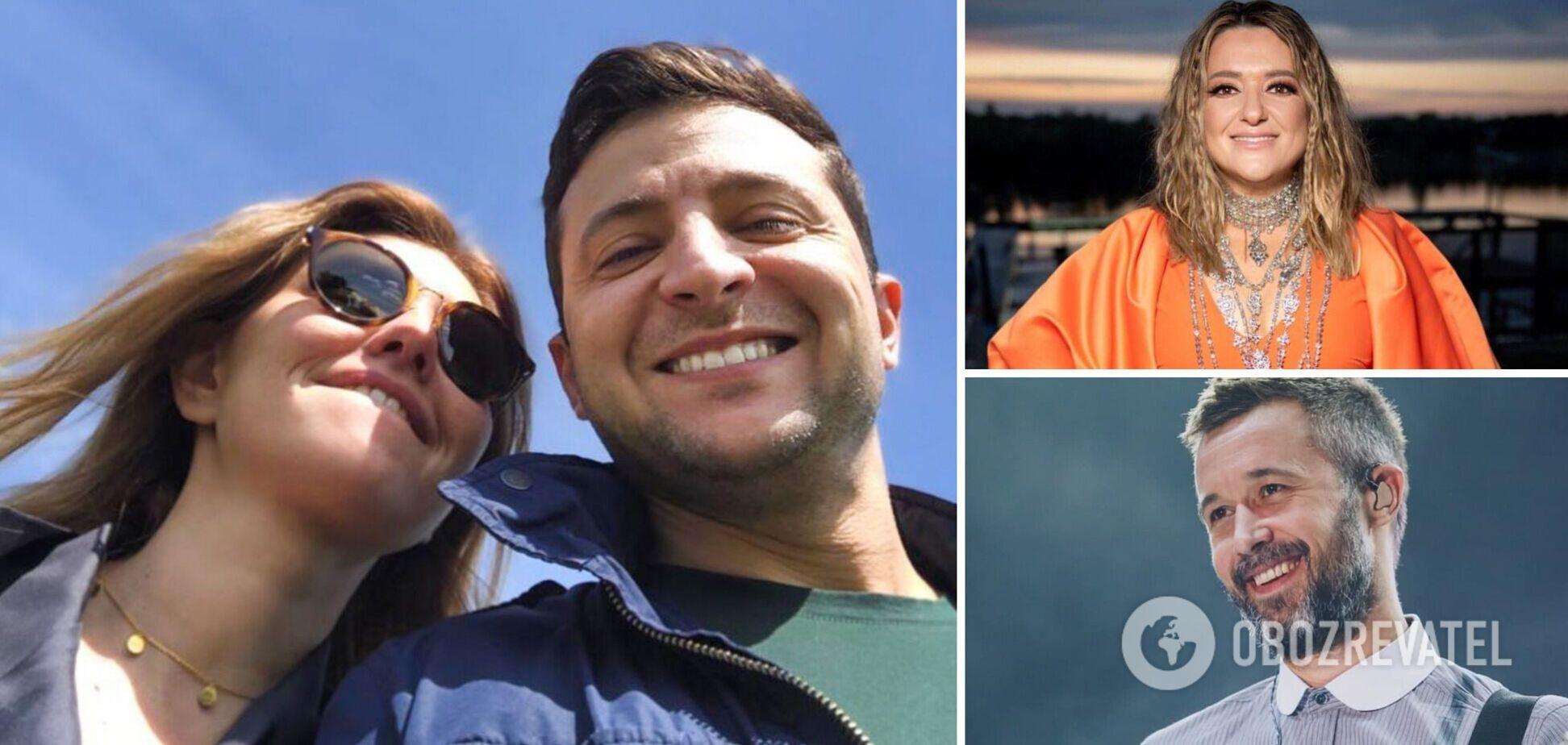 Звезды украинского шоу-бизнеса спели вместе на 'Олимпийском' в кругу президента и первой леди. Видео