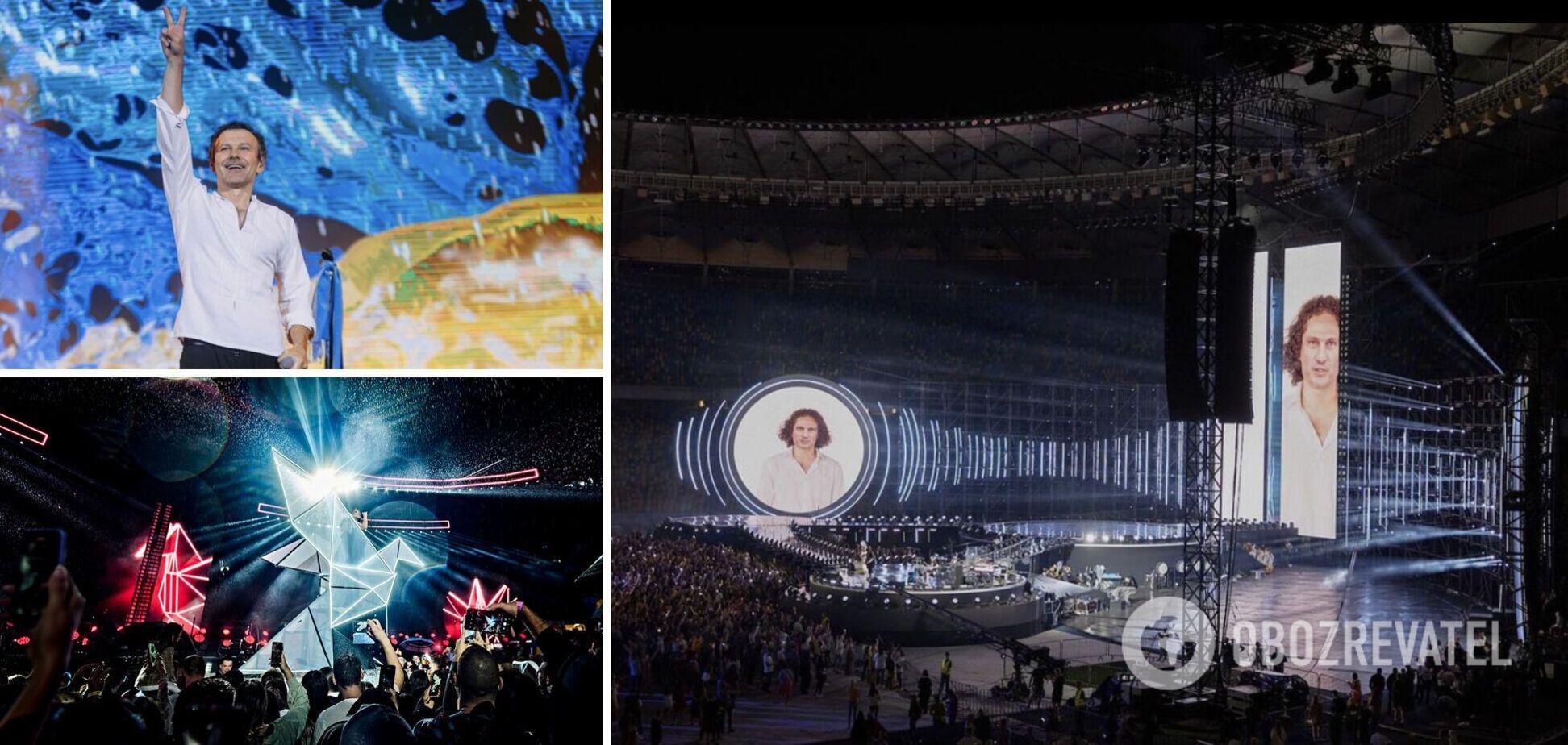 24 августа на НСК 'Олимпийский' выступили 34 украинских артиста