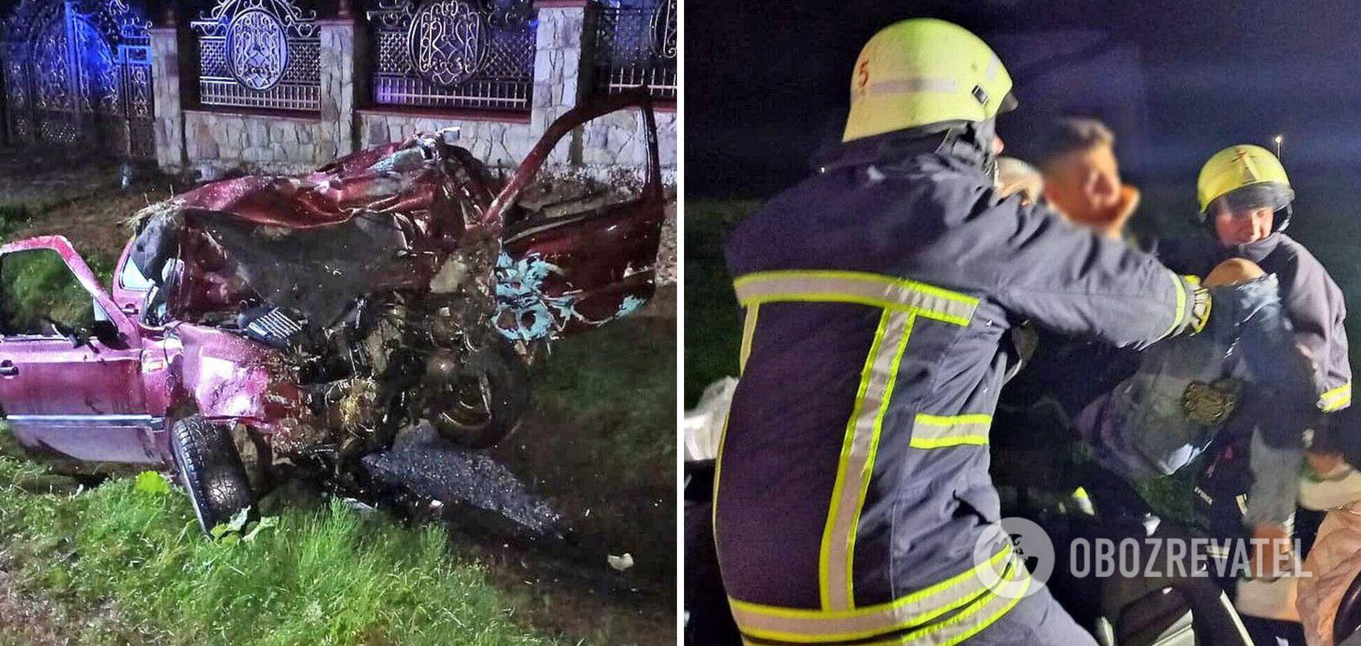 На Львовщине произошло ДТП с возгоранием, погибли три человека: водителя задержала полиция