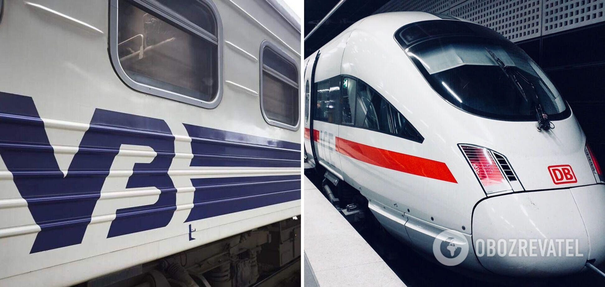 Deutsche Bahn займется перевозками украинцев