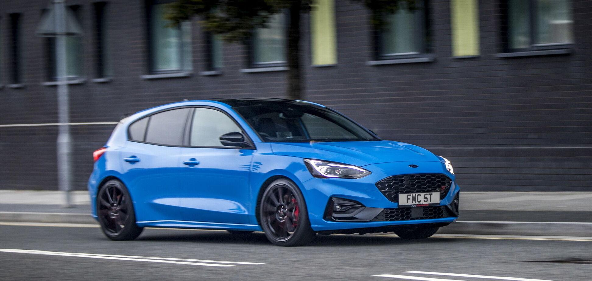 Ford презентував спецверсію Focus ST Edition
