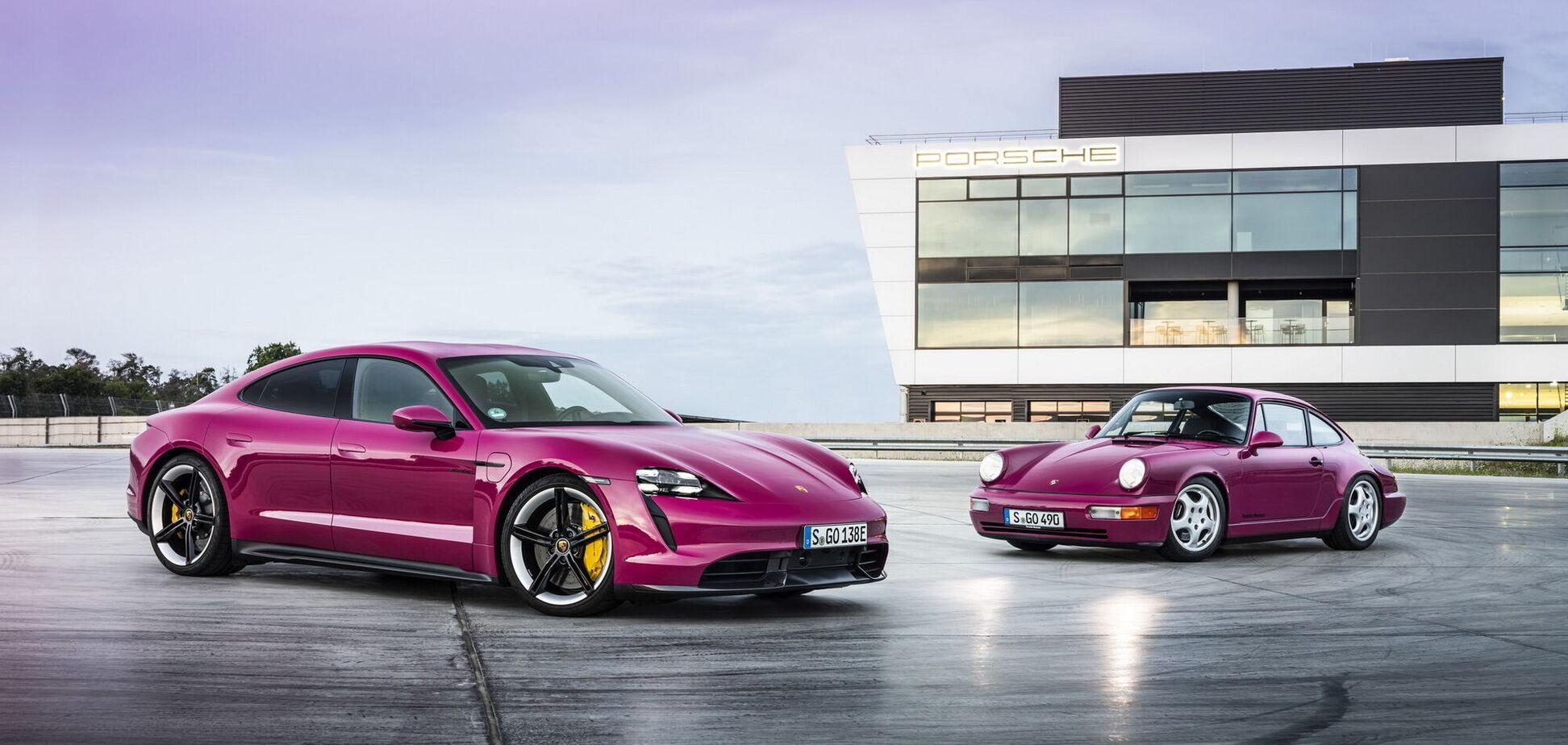 Porsche Taycan та Taycan Cross Turismo оновили