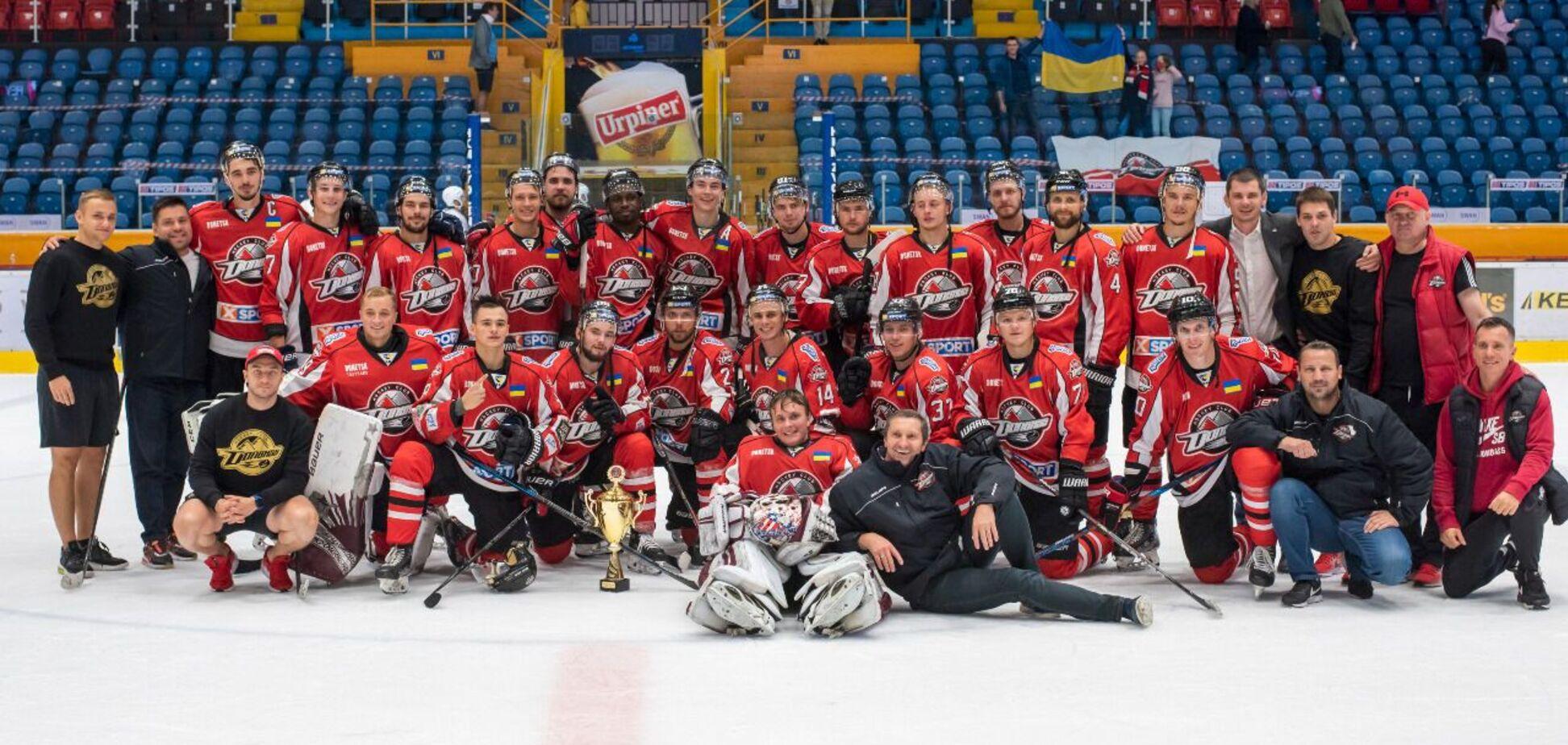 Исторический сезон: анонс дебюта ХК 'Донбасс' и Украины в Лиге чемпионов