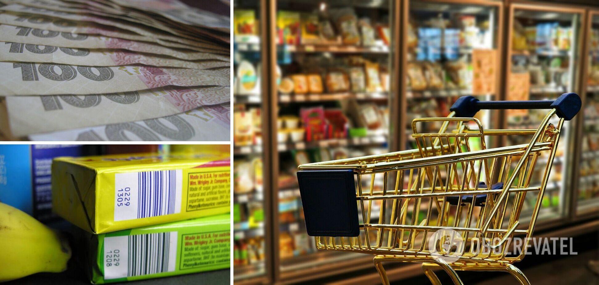 У Чернівцях чоловік переклеював у супермаркеті штрих-коди з дешевих товарів на дорогі