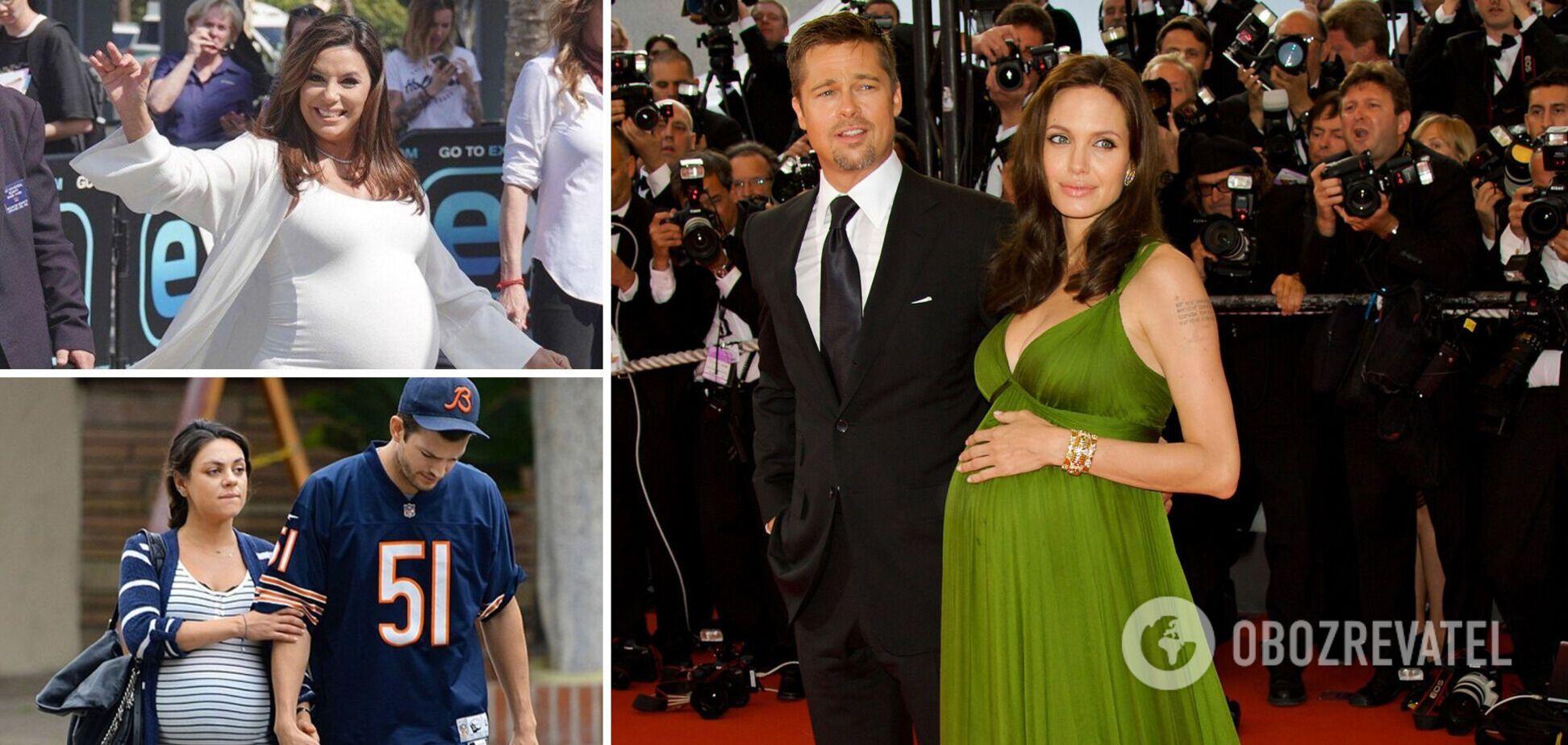 Голлівудські зірки часто з'являються на публіці при надії