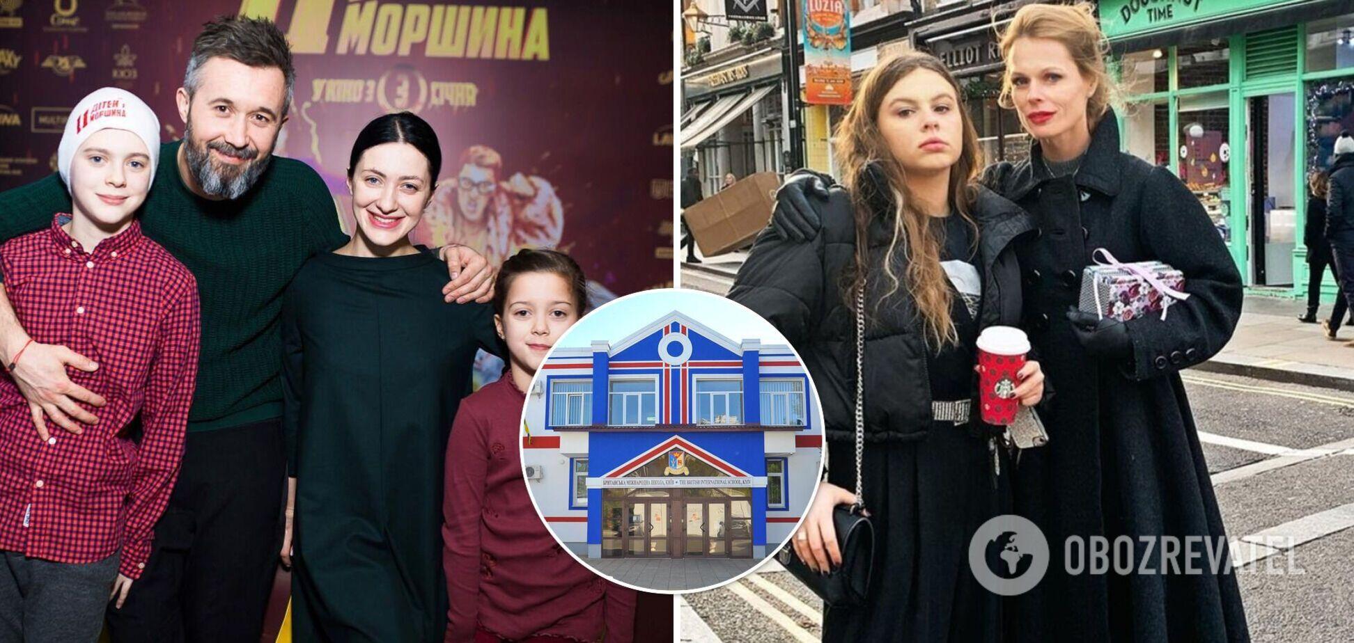 От 640 тысяч гривен за год: самые престижные школы Украины, где учатся дети украинских звезд. Фото