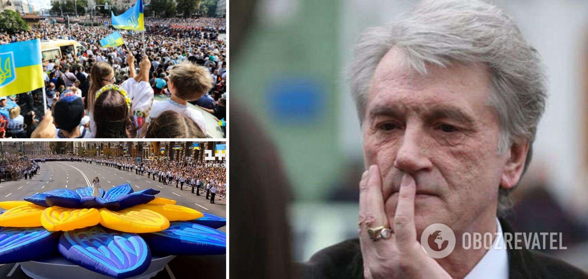 Ющенко назвав українців 'квазінацією' і розповів, чого не вистачає країні. Відео