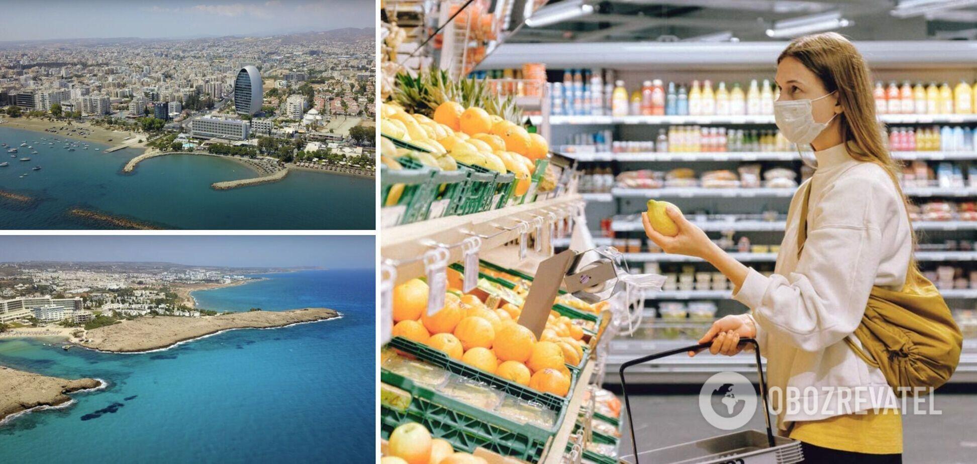 В супермаркеты на Кипре пускают только с сертификатом о вакцинации или отрицательным тестом на коронавирус