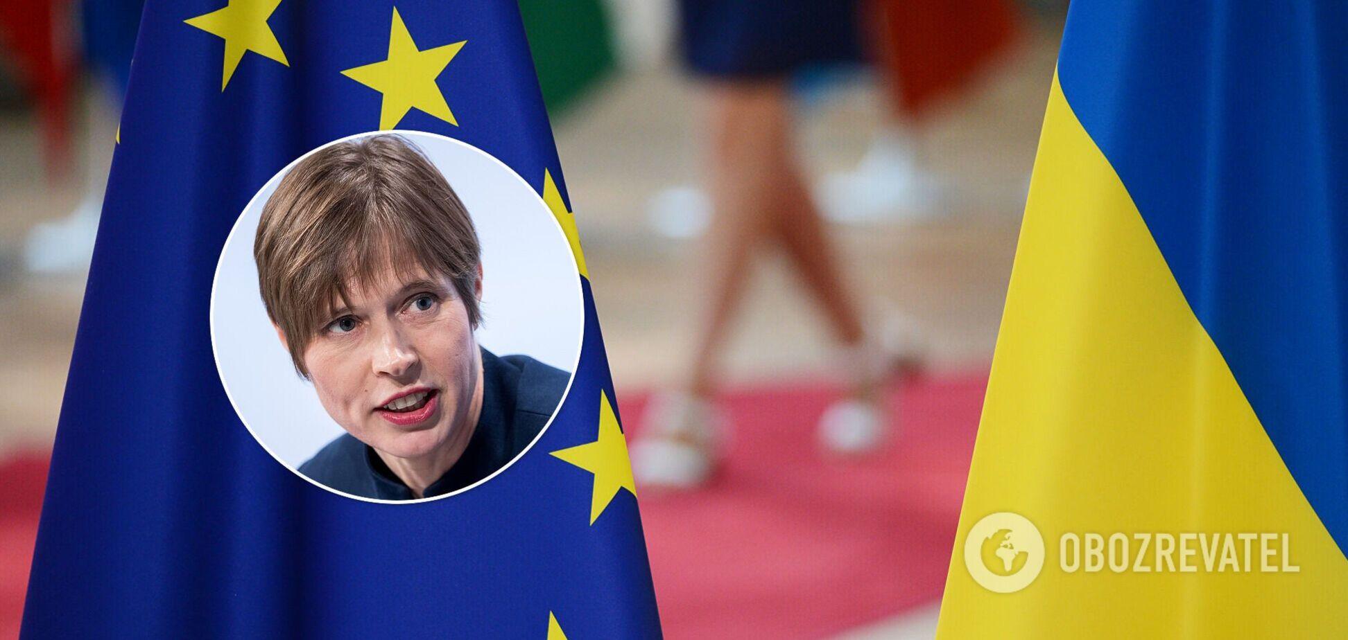 Президент Эстонии не советует инвестировать в Украину