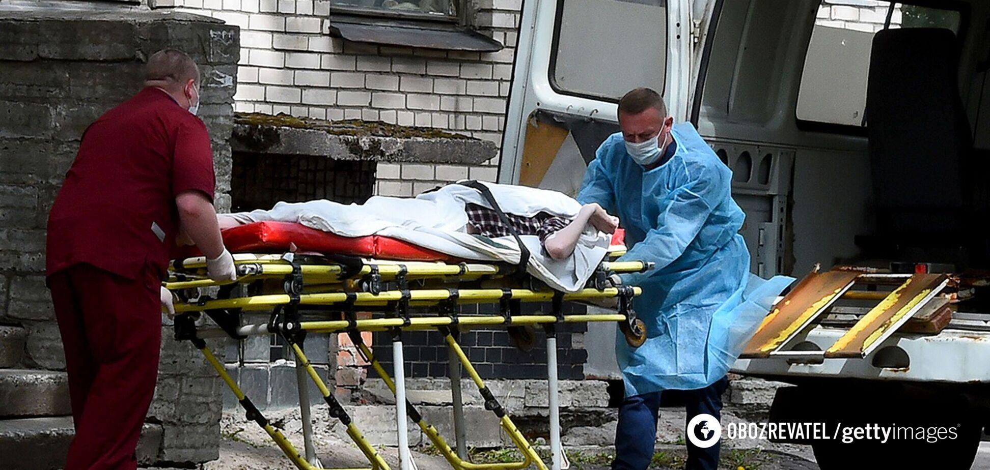 Россия побила новый рекорд по числу смертей от COVID-19 за сутки