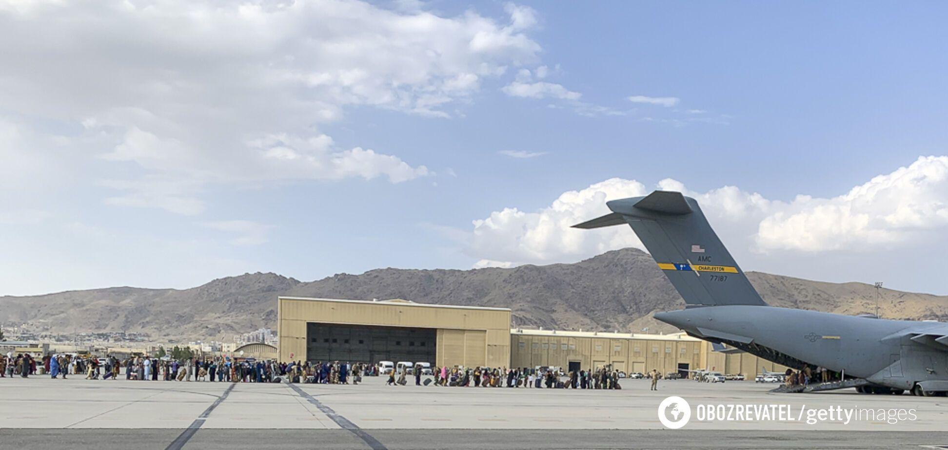 Аеропорт Кабула в Афганістані