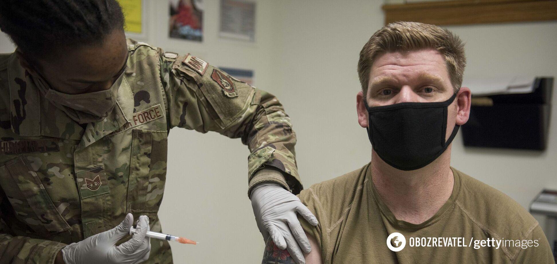 В Пентагоне объявили об обязательной вакцинации от COVID-19 военнослужащих