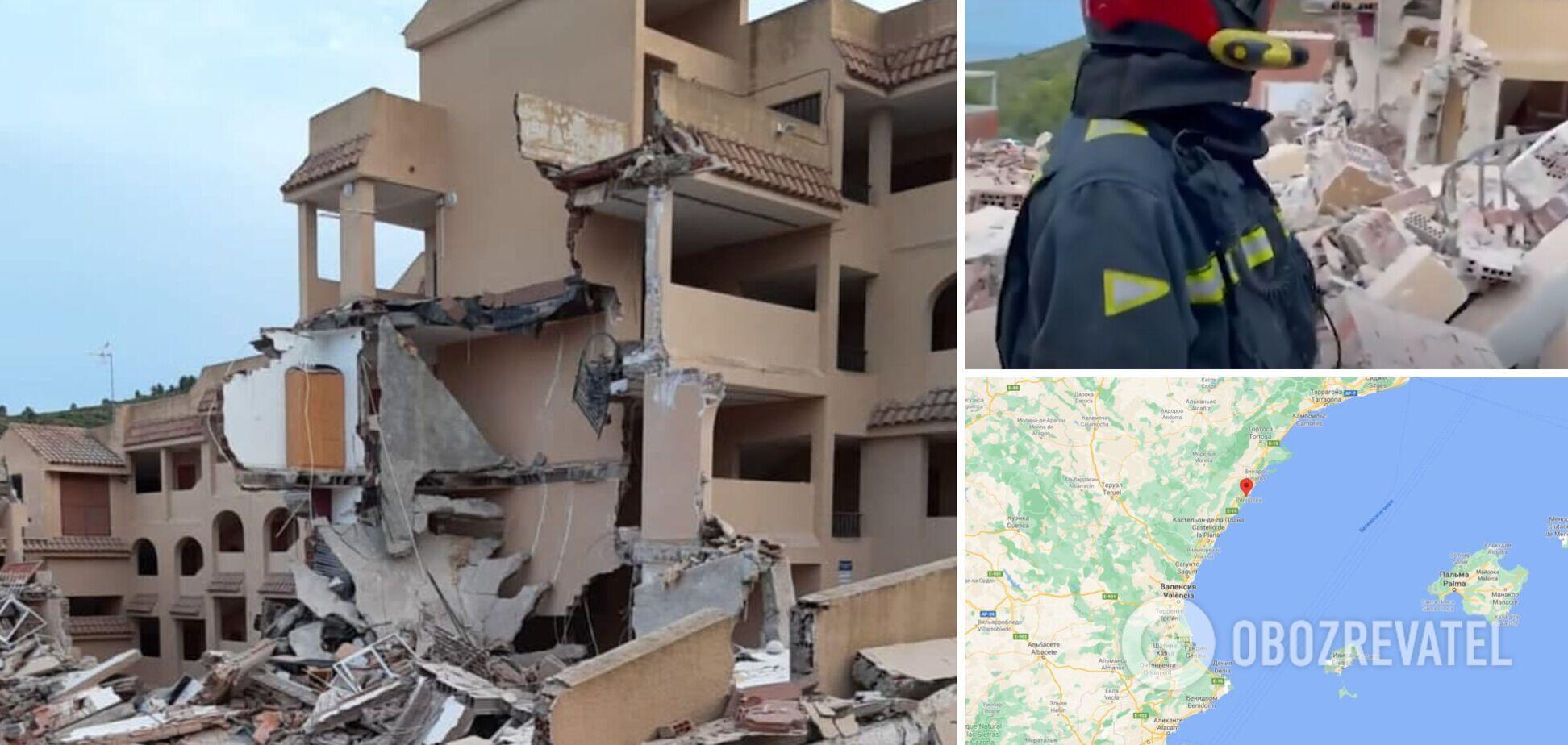 В Іспанії обвалився триповерховий житловий будинок, під завалами загинув підліток. Фото, відео та всі деталі трагедії