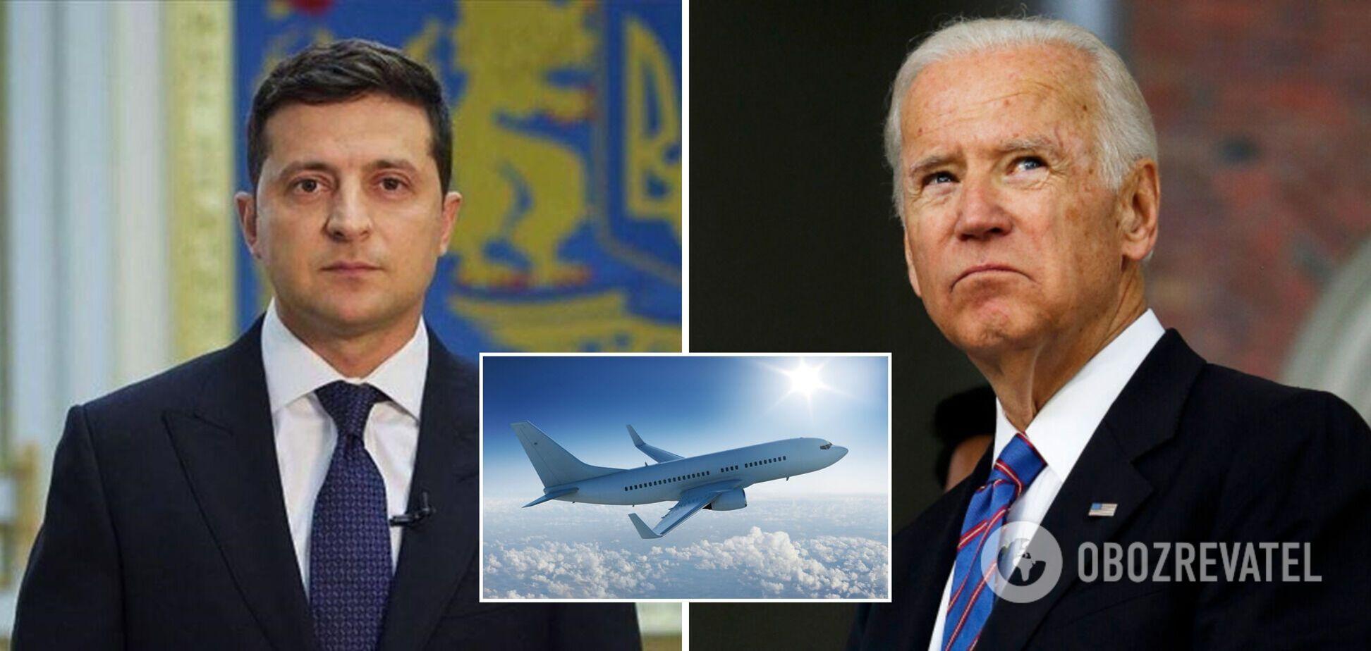 Зеленский вылетает в США: выяснились новые детали переговоров с Байденом