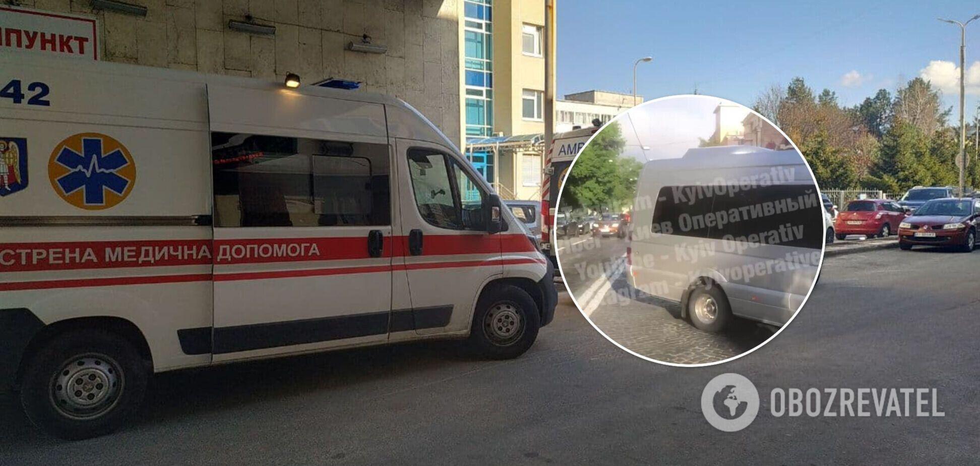 Водитель микроавтобуса нарушил ПДД