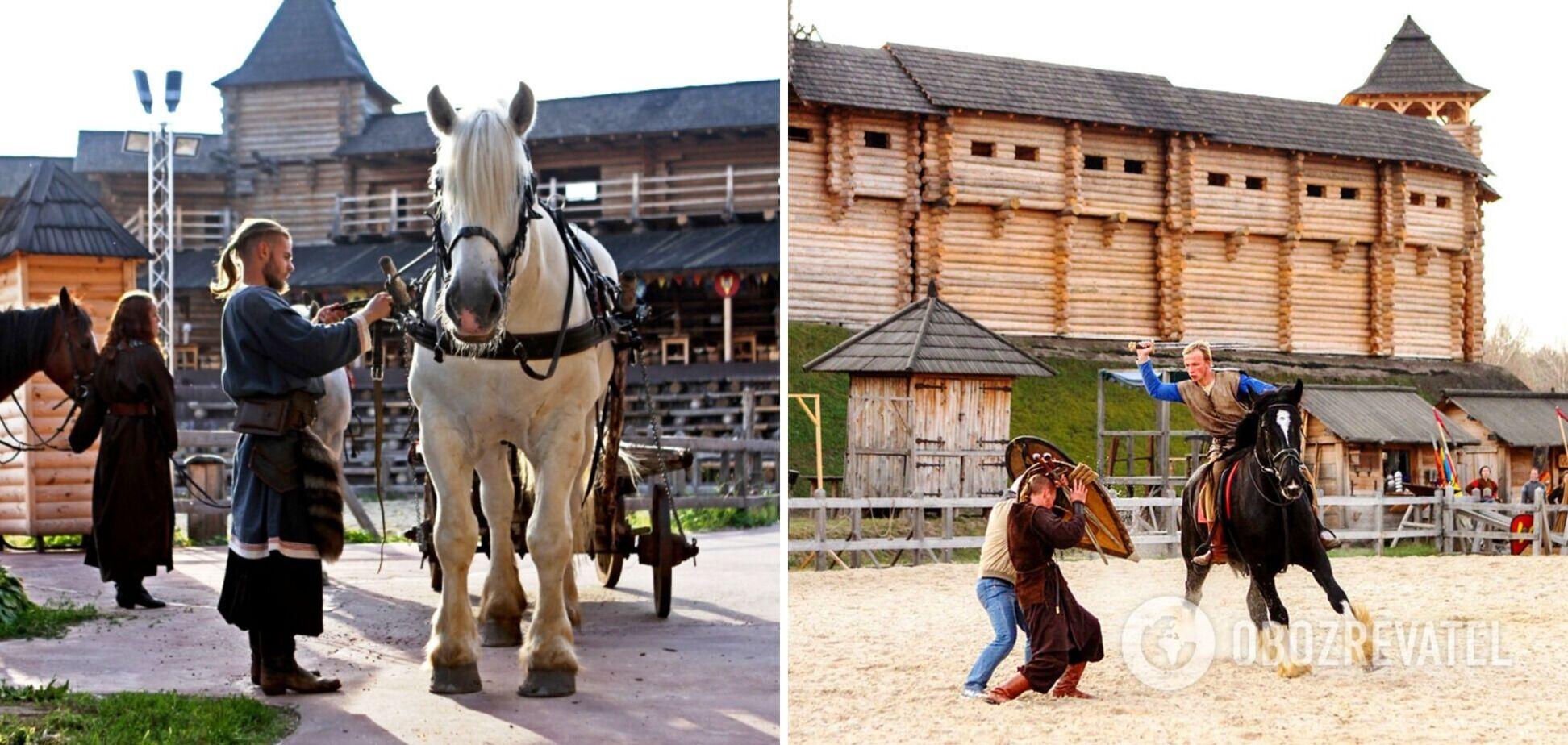 Под Киевом проведут княжеский конный турнир: названо дату и место