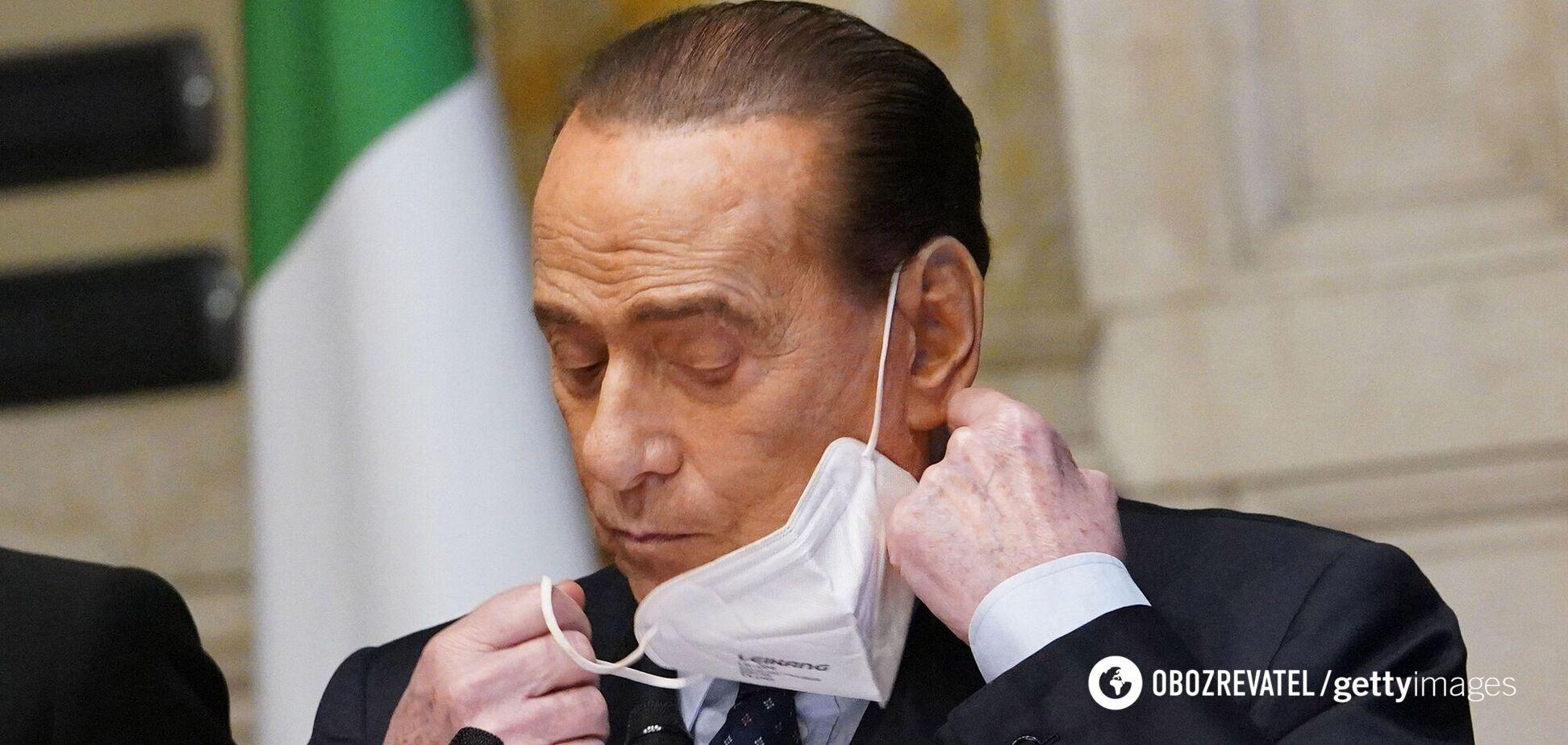 Берлускони госпитализировали в Милане
