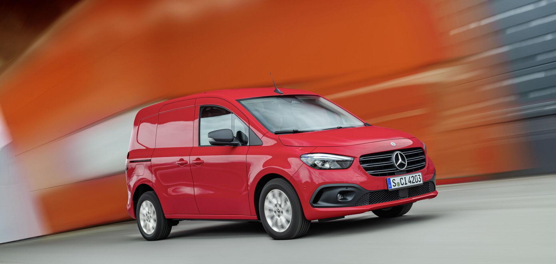 Mercedes-Benz представив нове покоління моделі Citan