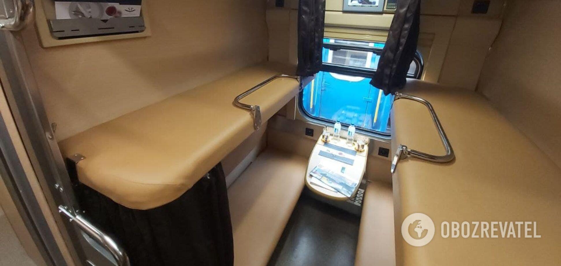'Укрзалізниця' показала, как хотят обновить плацкартные вагоны