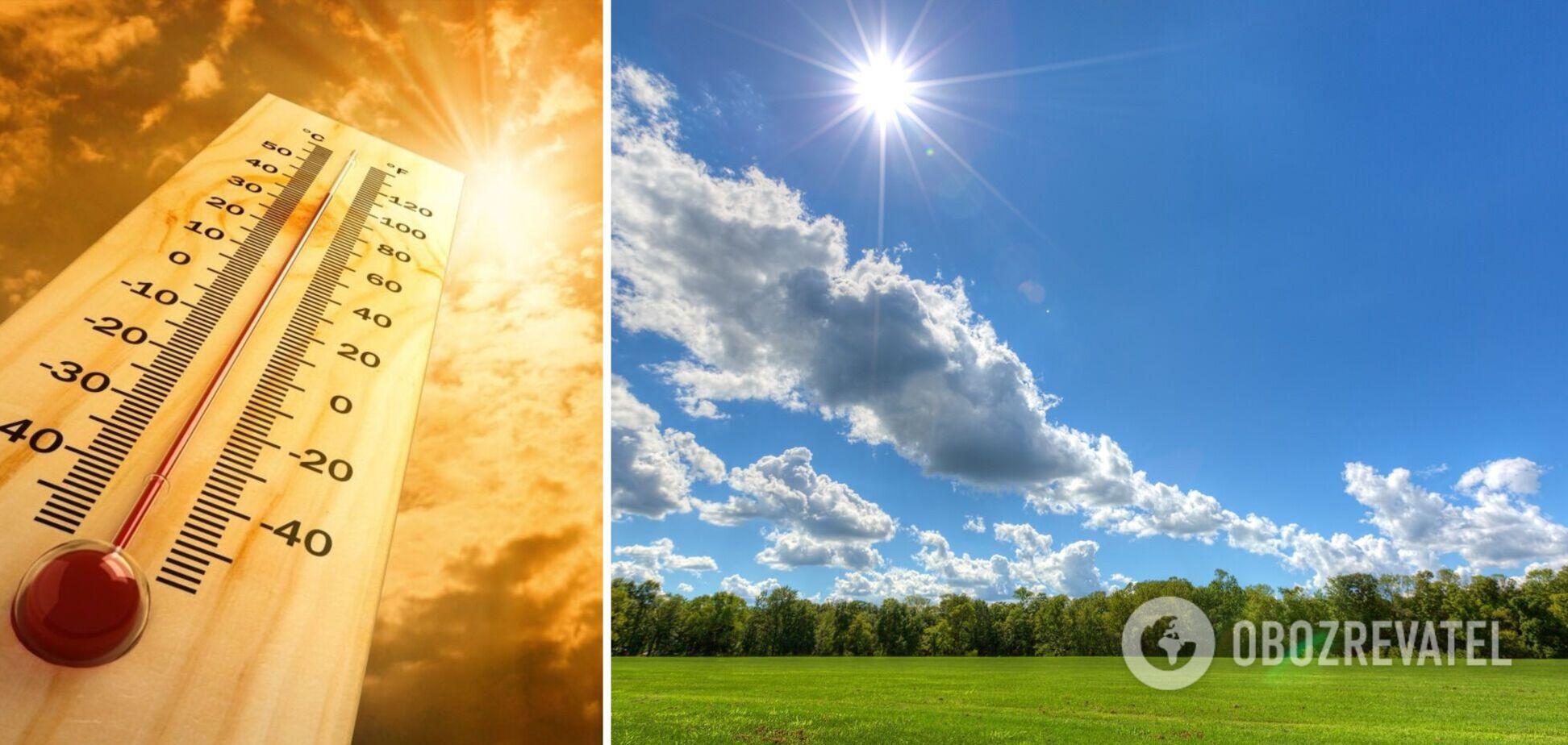 В Украину вернется жара, но не везде: прогноз погоды на субботу. Карта