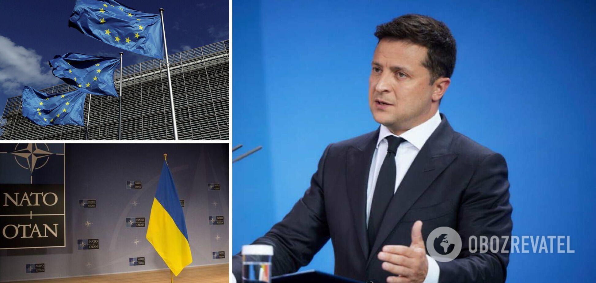 Вступ до НАТО і ЄС, боротьба з агресією Росії: Зеленський затвердив Стратегію зовнішньої політики. Документ
