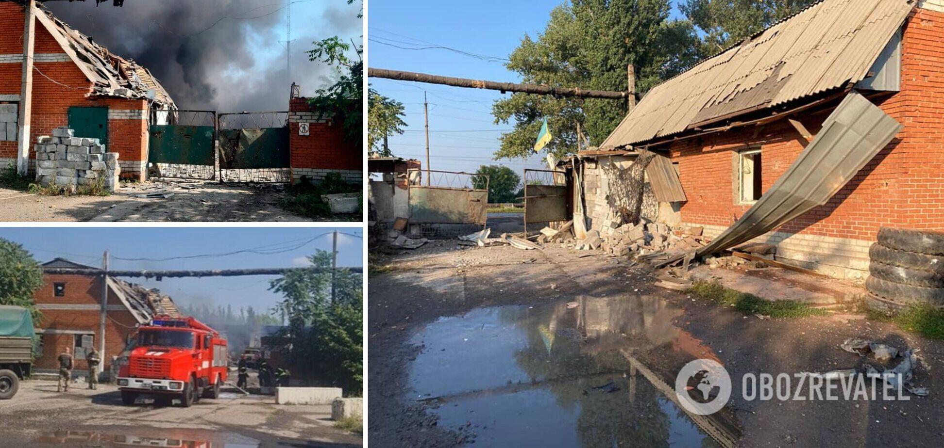 Оккупанты обстреляли Авдеевку: движение поездов ограничили, над городом виднелся дым. Видео