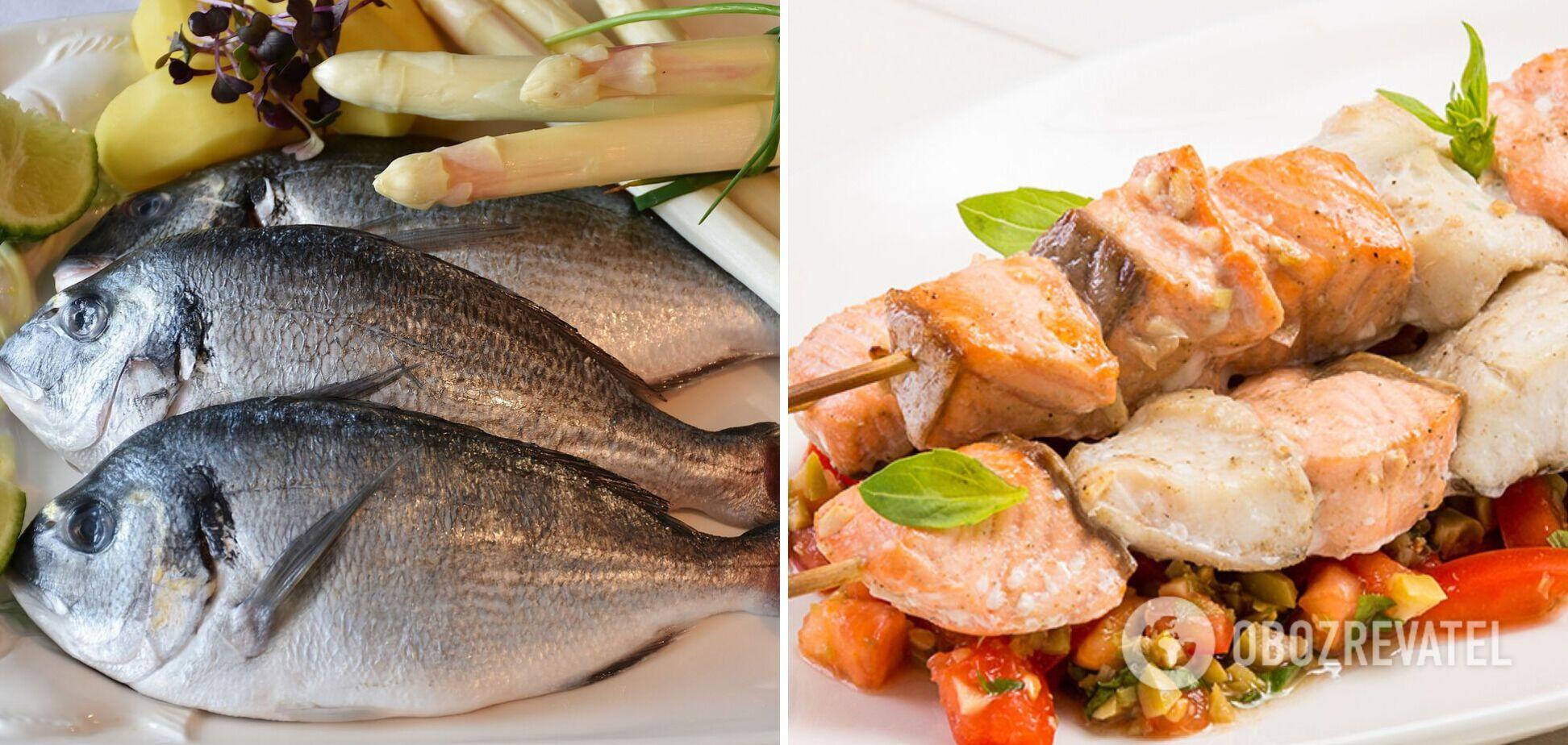 Как дома приготовить шашлык из рыбы