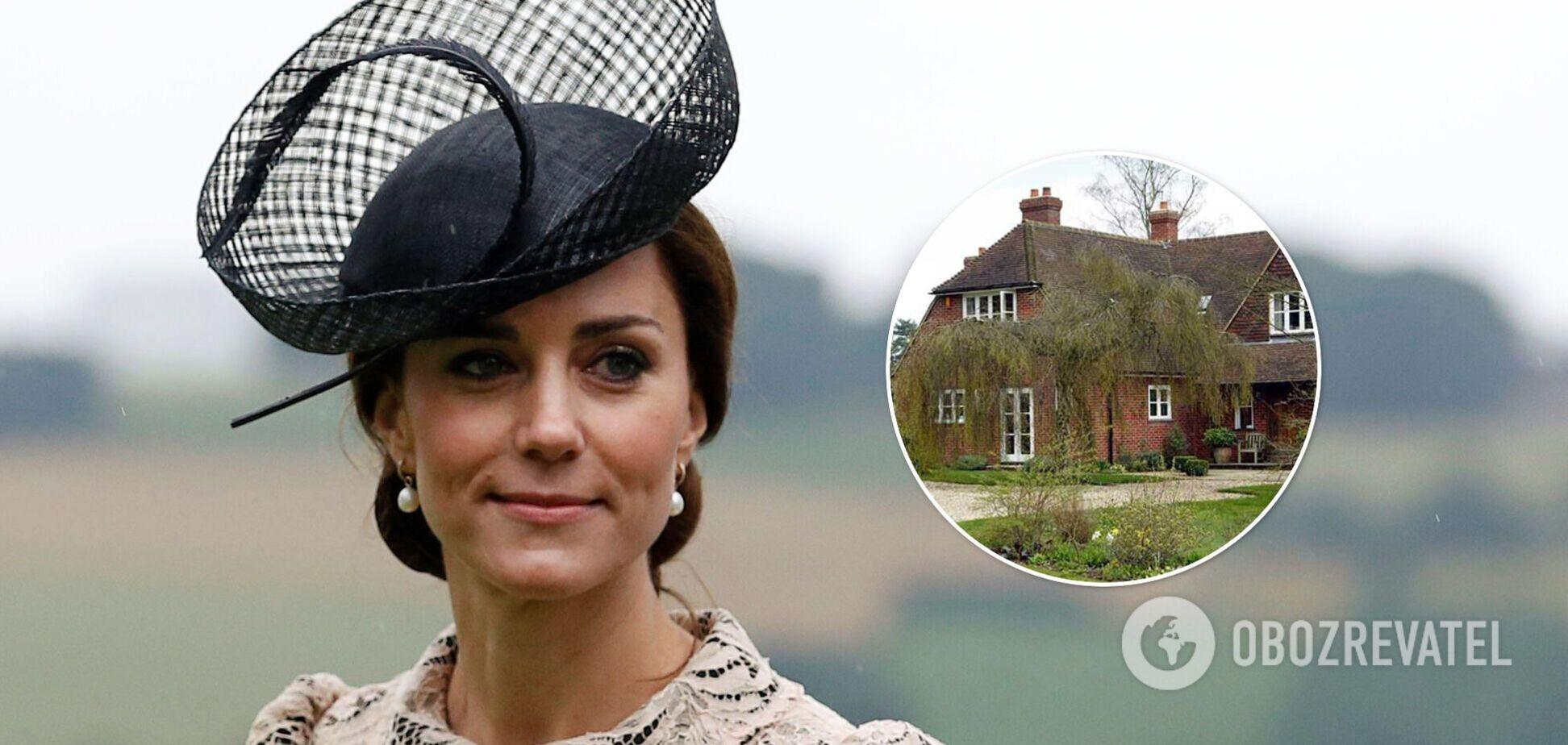 В сети показали фото дома, в котором жила Кейт Миддлтон