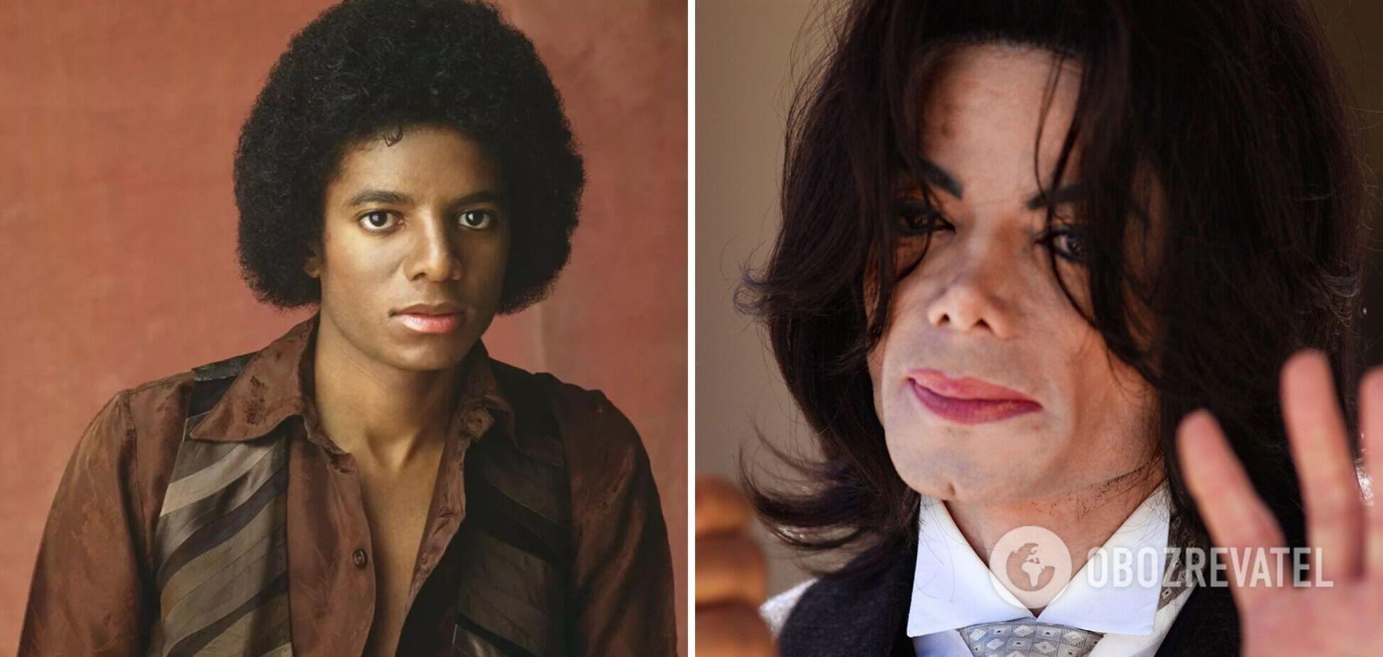 Як змінювалася зовнішність Майкла Джексона протягом кар'єри