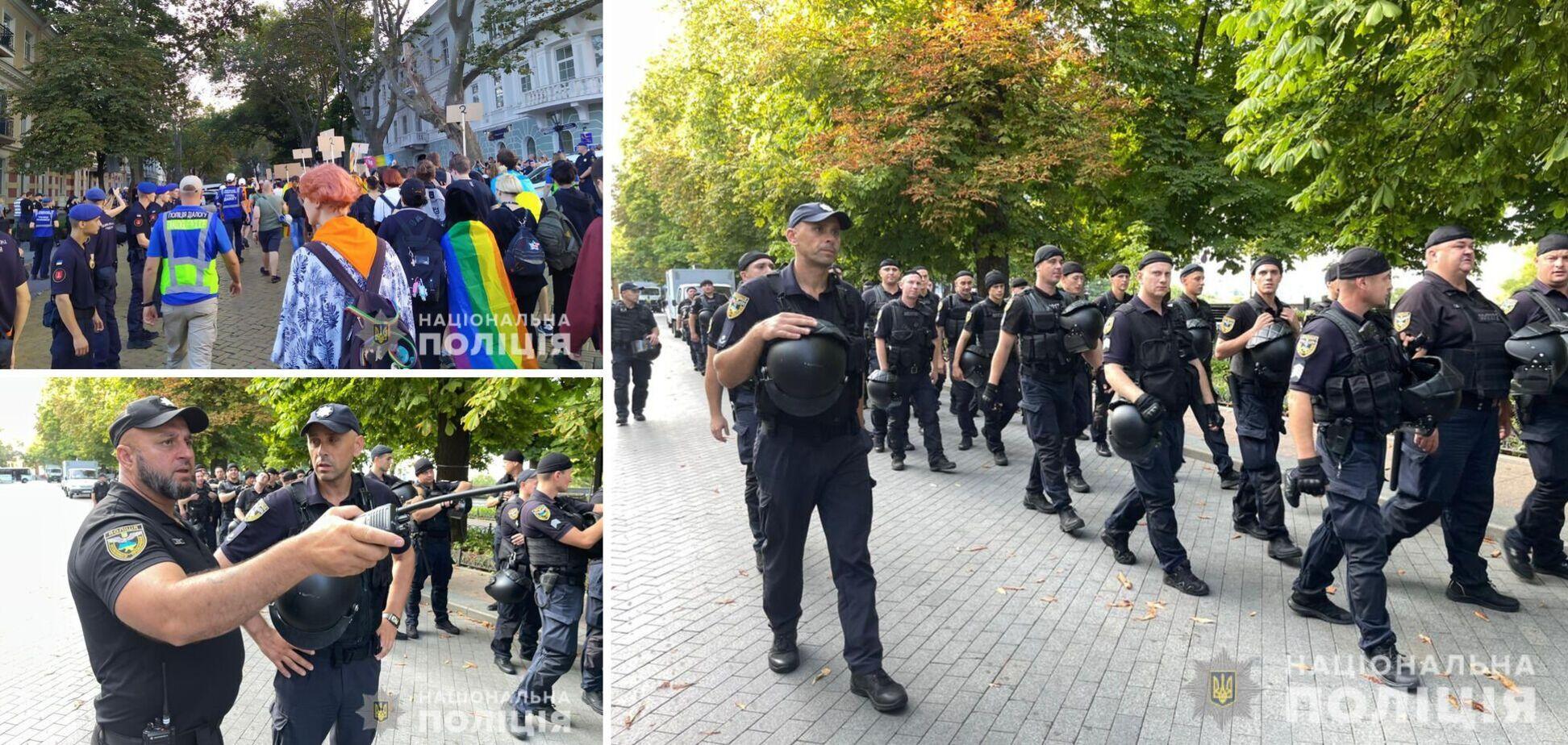Керівник одеської поліції – про інциденти під час прайду ЛГБТ: суттєвих порушень не допущено