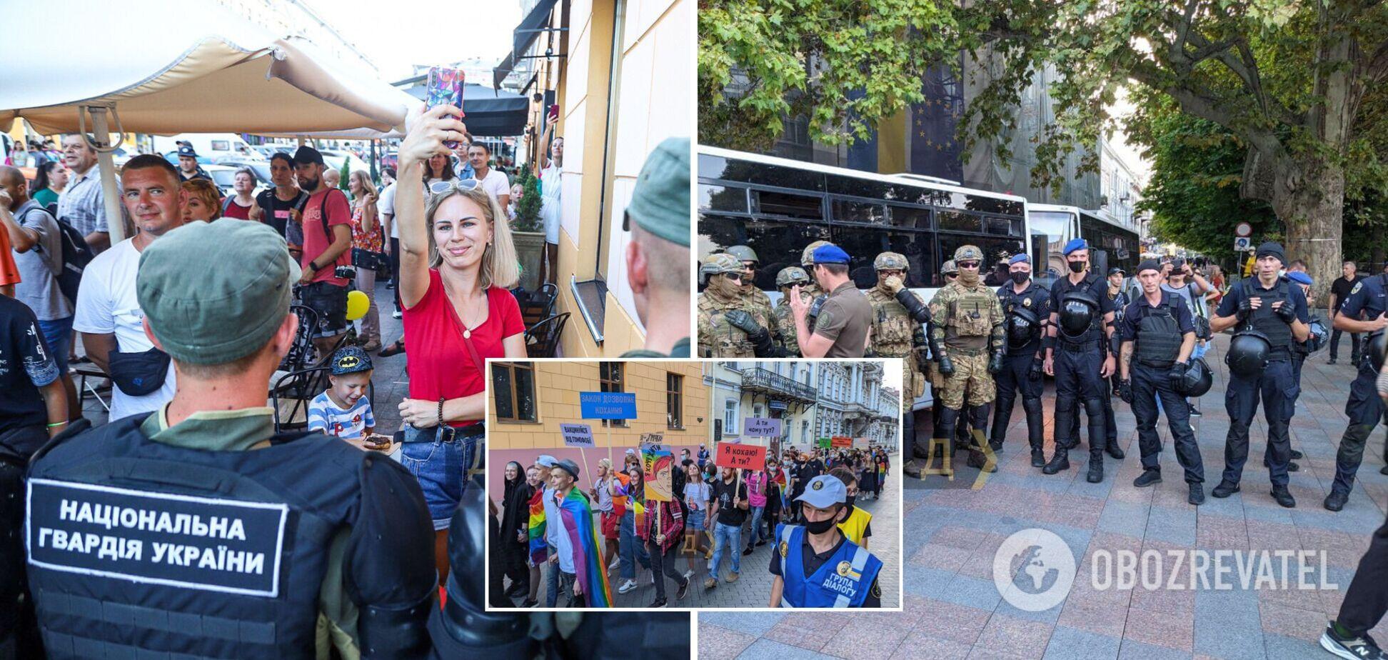 Акция в Одессе 28 августа