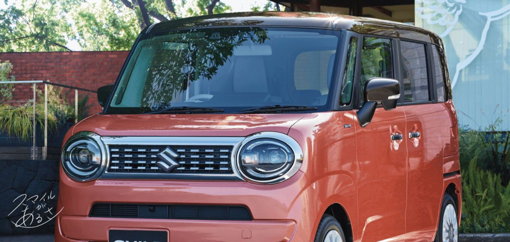 Suzuki показала новий мікровен Wagon R Smile