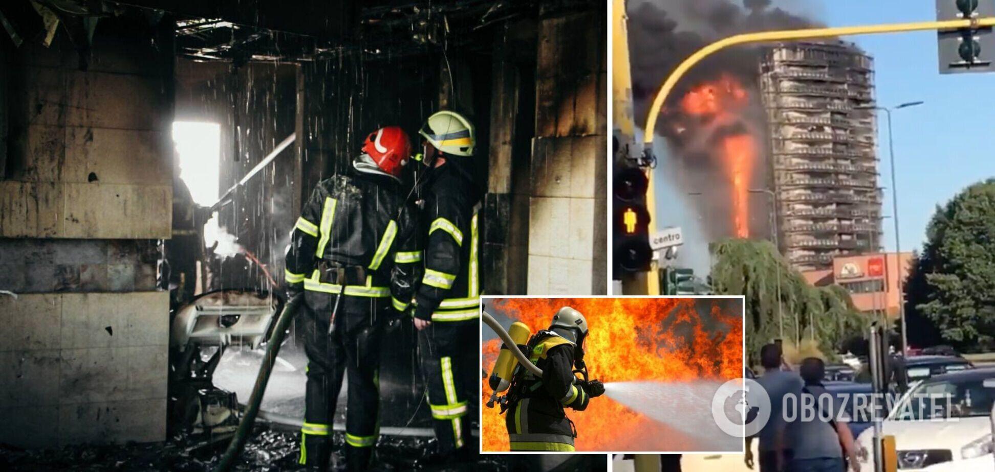 У Мілані спалахнула багатоповерхівка, будівля перетворилася на палаючий факел: людей встигли врятувати. Фото і відео