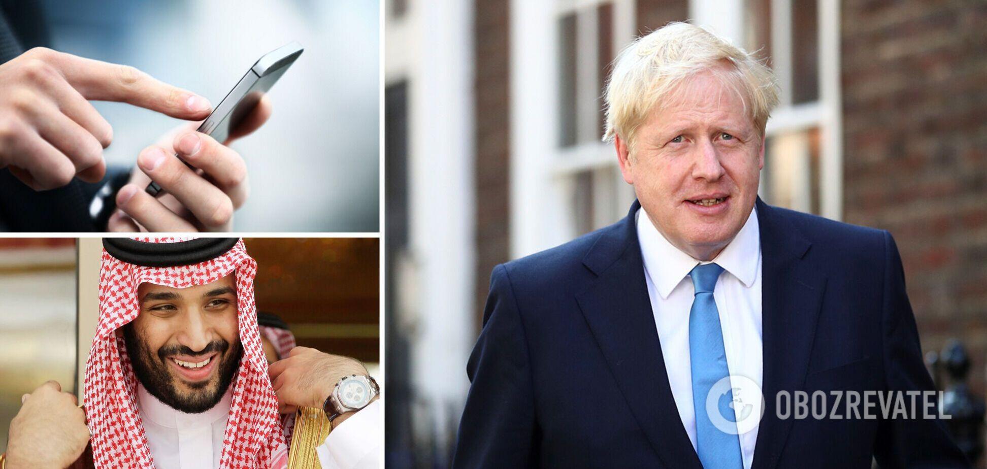 Прем'єр Британії Джонсон потрапив у скандал через смс принцу з особистого телефону