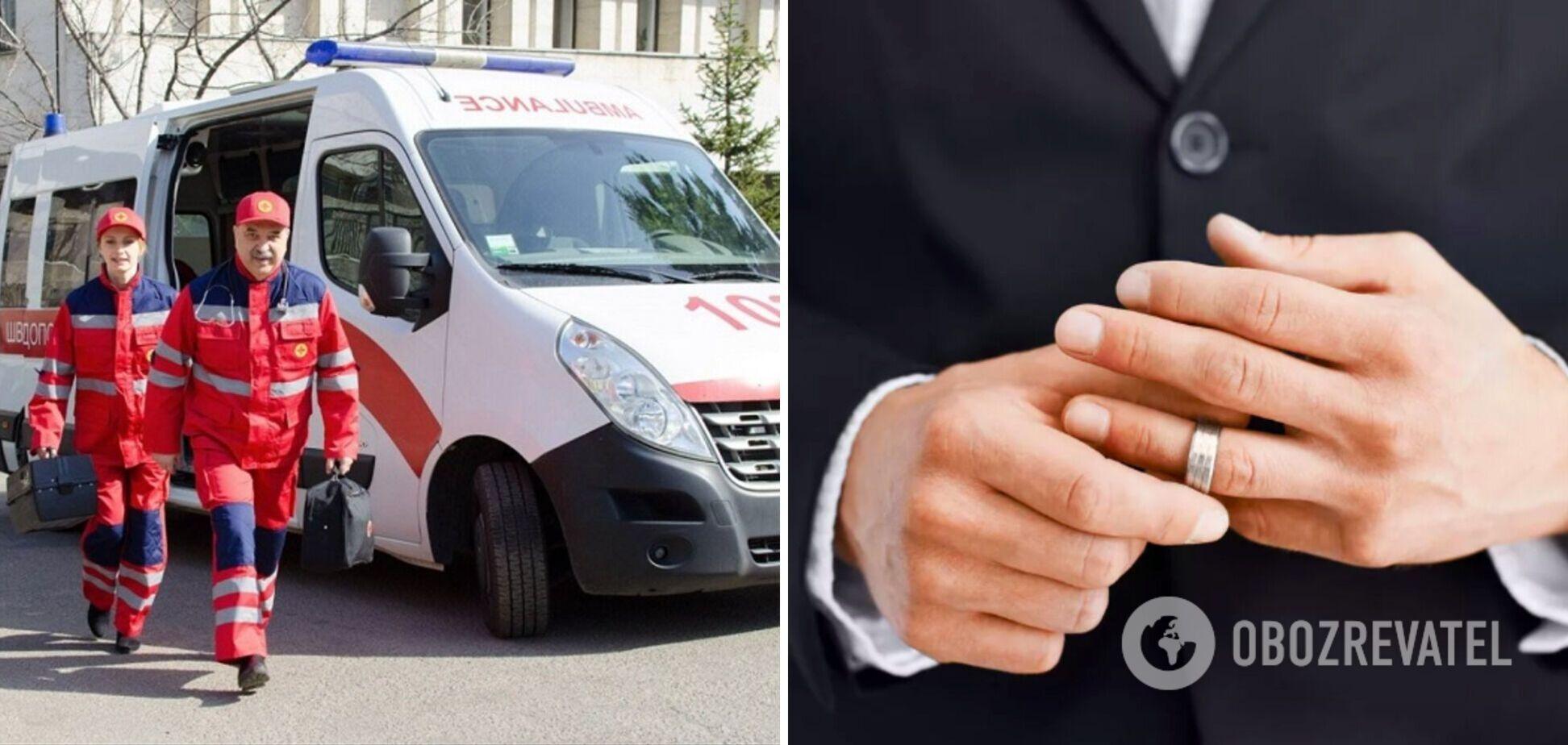 Под Херсоном 60-летний мужчина надел обручальное кольцо на половой орган: его госпитализировали