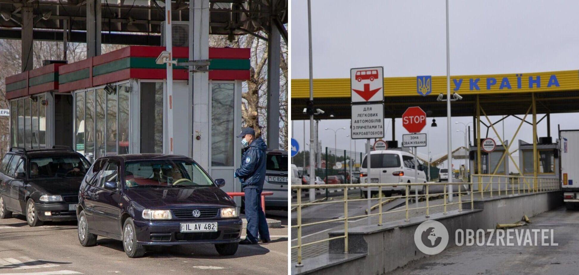Україна заборонить в'їзд авто з Придністров'я: на митниці дали роз'яснення