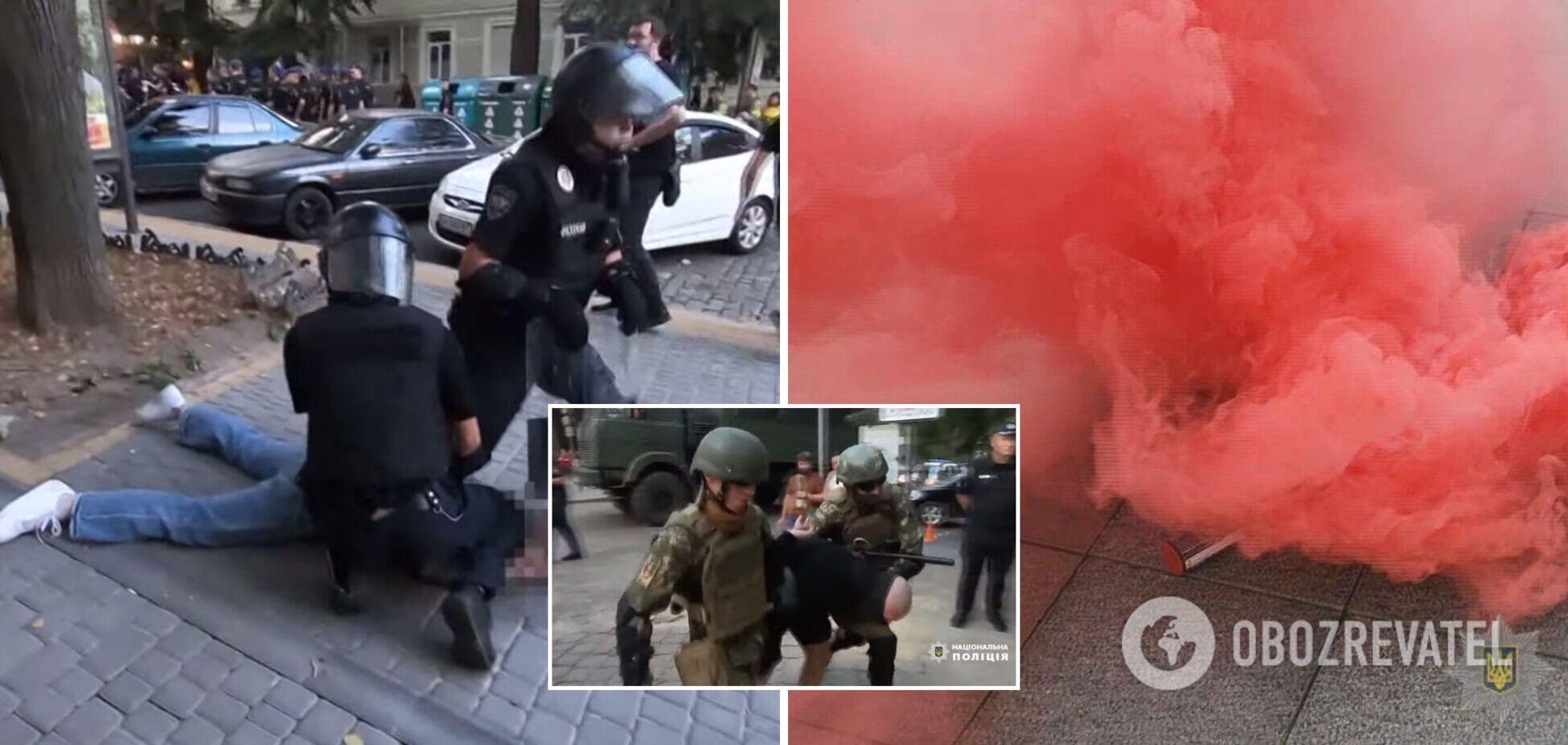 Задержания в Одессе 28 августа