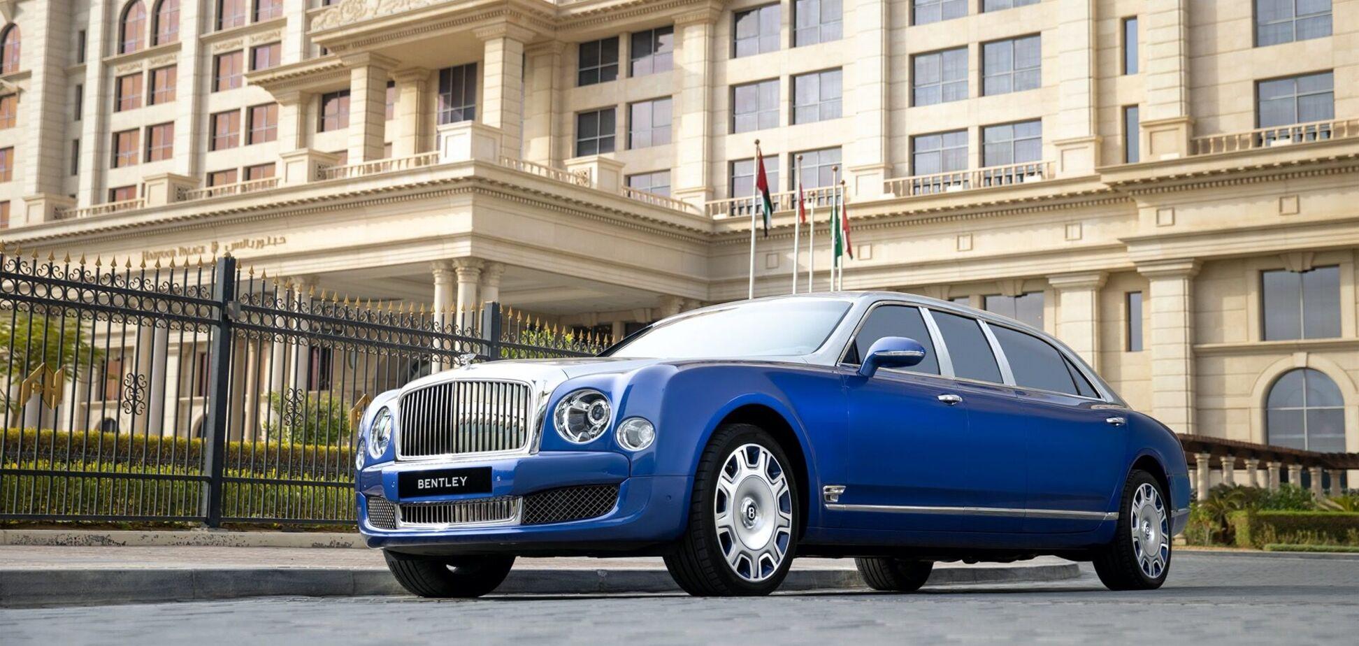Bentley виставив на продаж 5 унікальних лімузинів Mulsanne