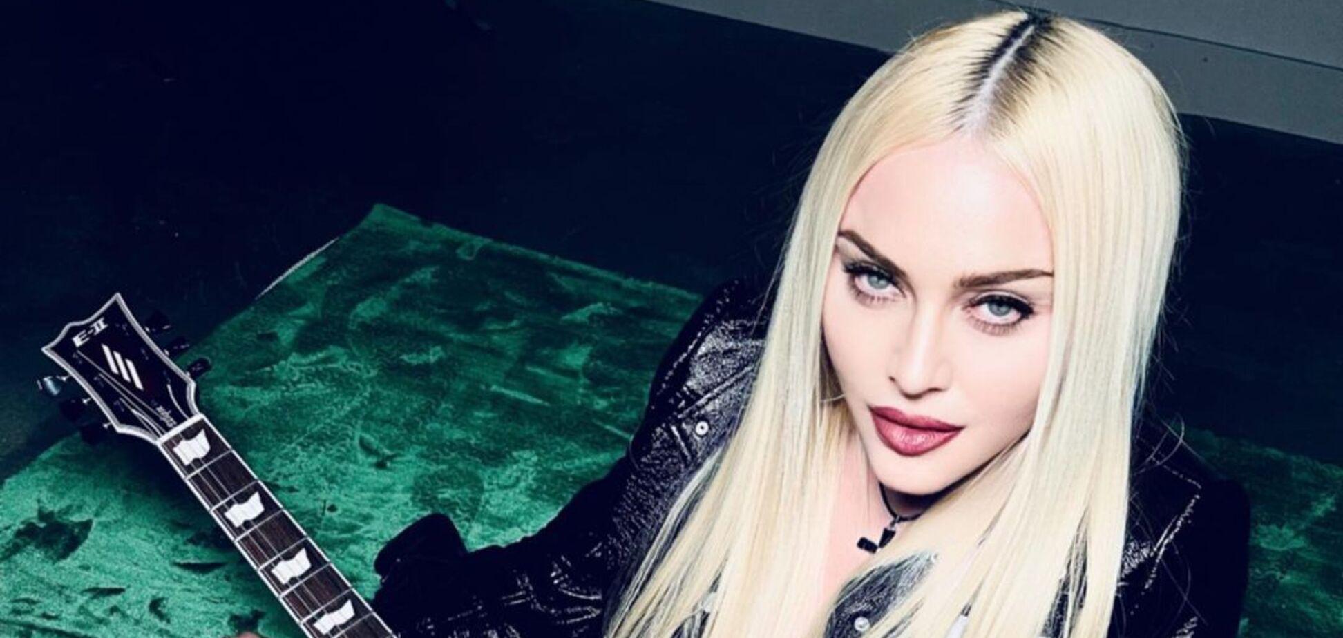 Мадонна в зухвалому образі зі своїм хлопцем