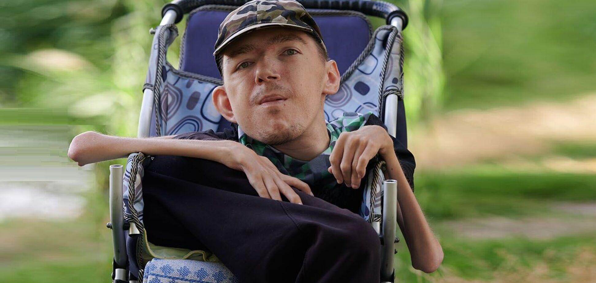 Антон Дубішин – 31-річний волонтер з інвалідністю