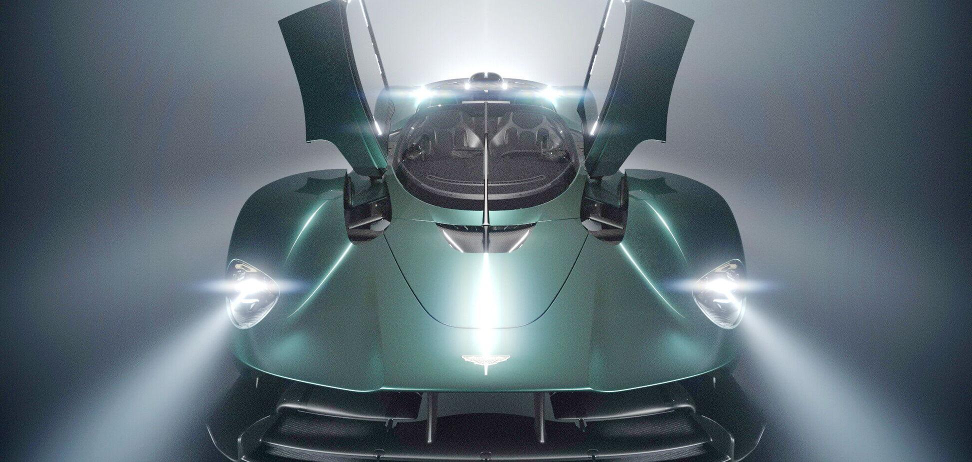 Aston Martin покажет в Калифорнии новый суперкар