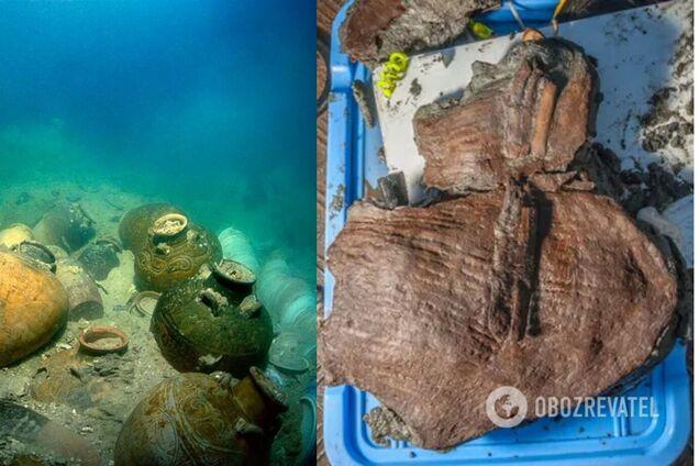 Археологи нашли в затонувшем египетском порту корзины с фруктами, которым 2 тыс. лет. Фото
