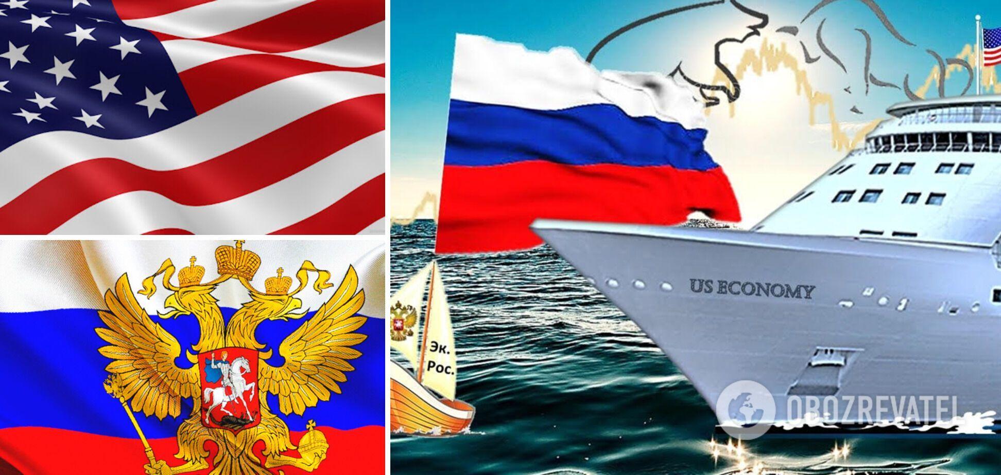 Российская 'бензоколонка' и экономика США: инертная дегенерация против задиристого новаторства