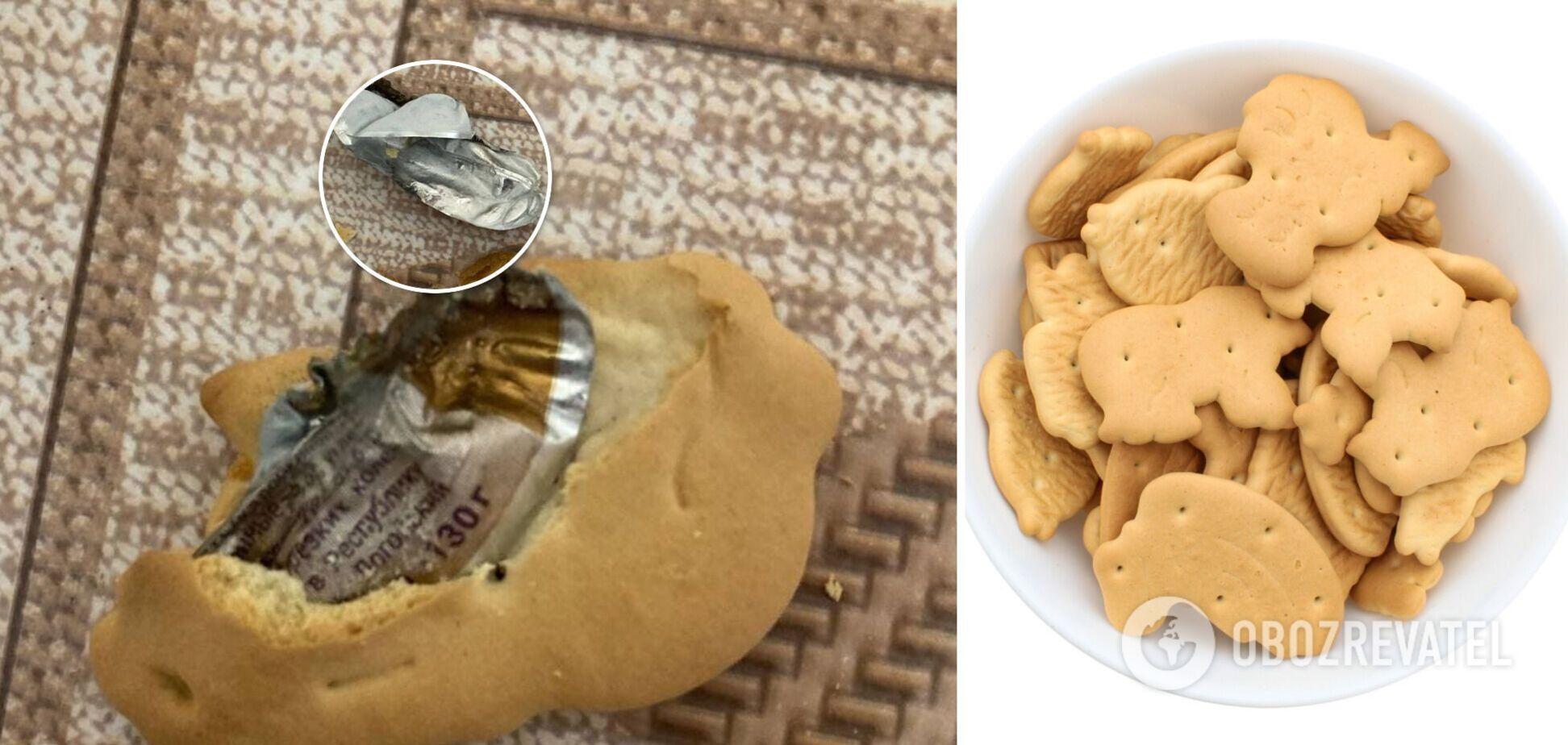 Харків'янин знайшов 'сюрприз' у печиві місцевої фабрики. Фото