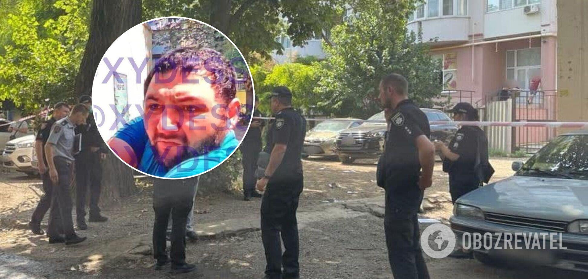 Момент убийства в Одессе попал на видео: фото киллера