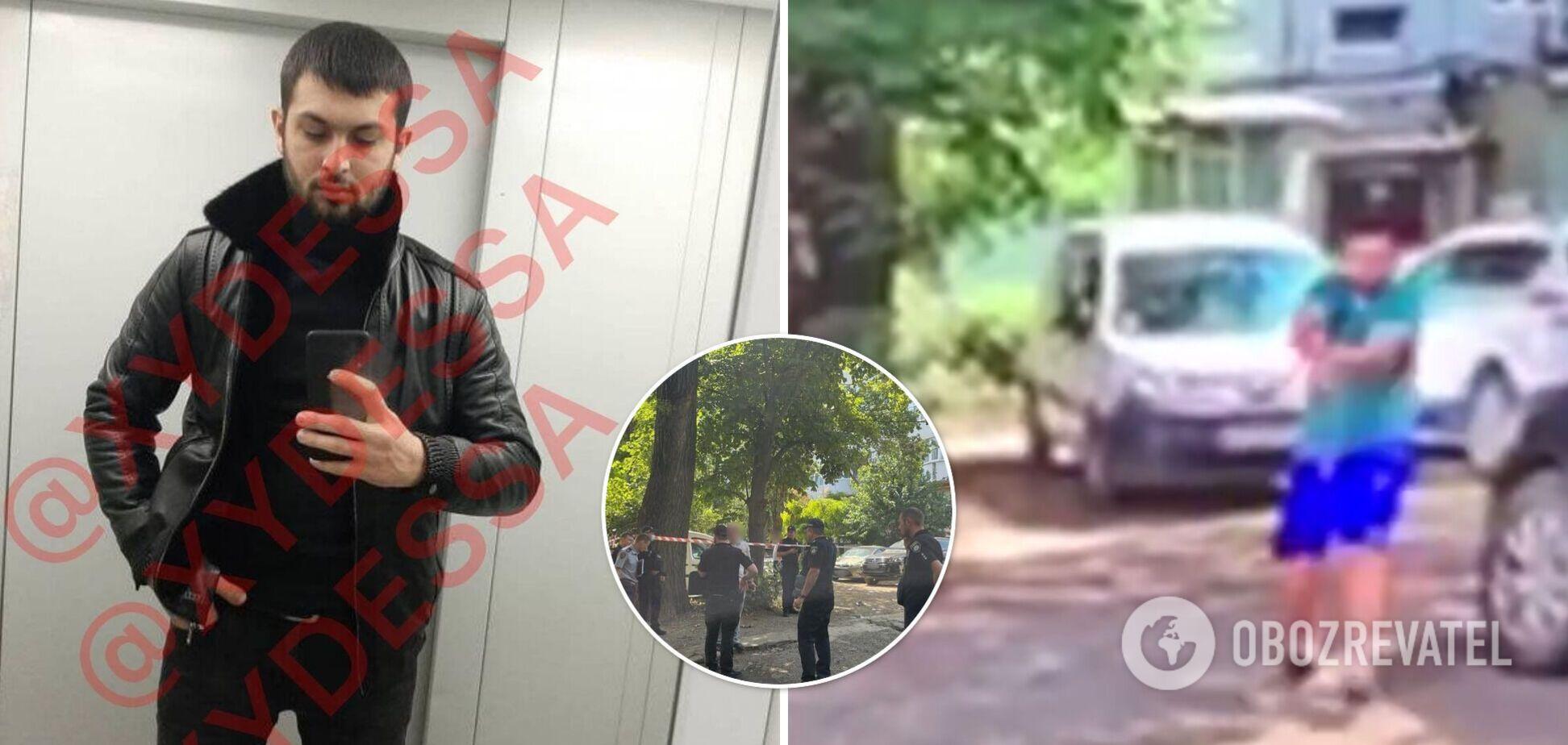 Залишилося двоє дітей: з'явилися дані про вбитого в Одесі та нове відео стрілянини