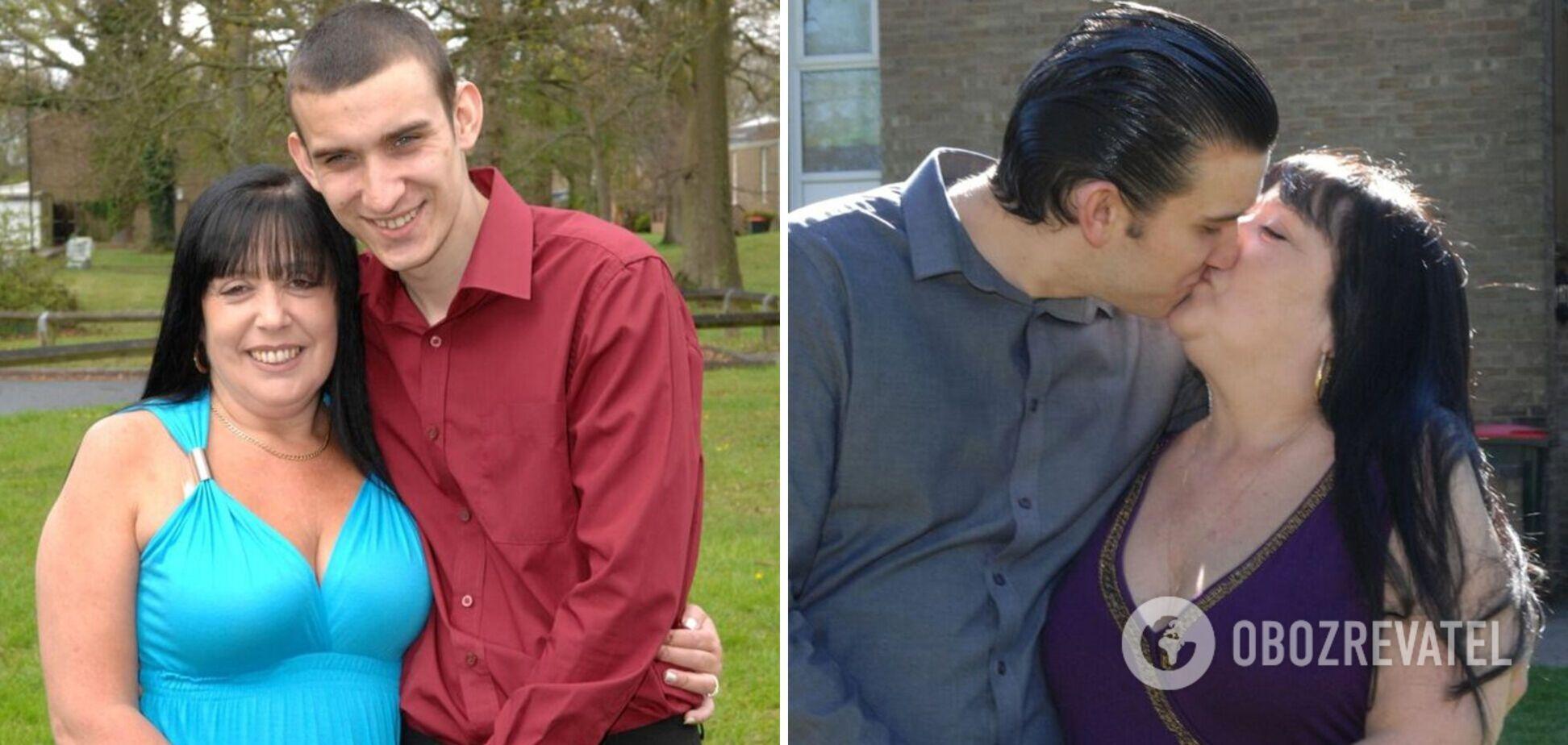 Женщина завела роман с лучшим другом своего сына: он младше на 29 лет. Фото
