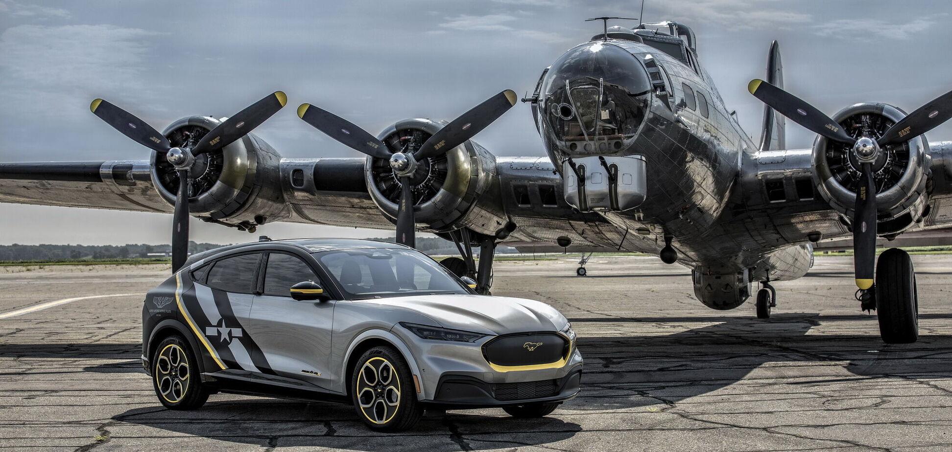 Ford присвятив кросовер льотчиці Другої світової